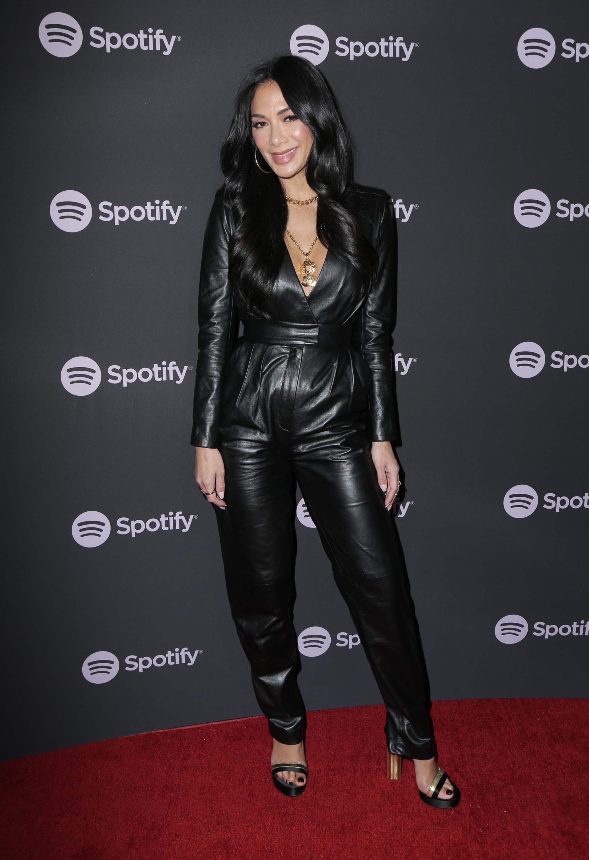 Nicole Scherzinger attends Spotify Best New Artist 2019 event