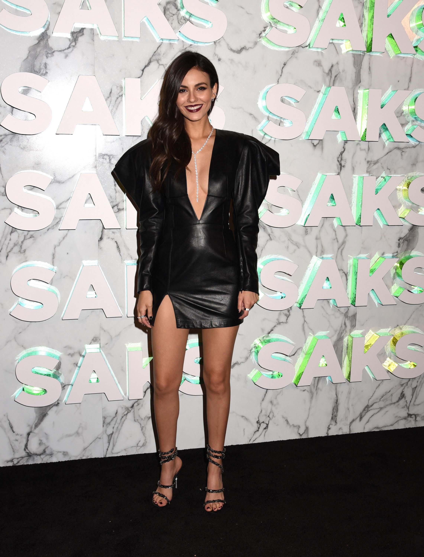 Victoria Justice attends Saks Celebration