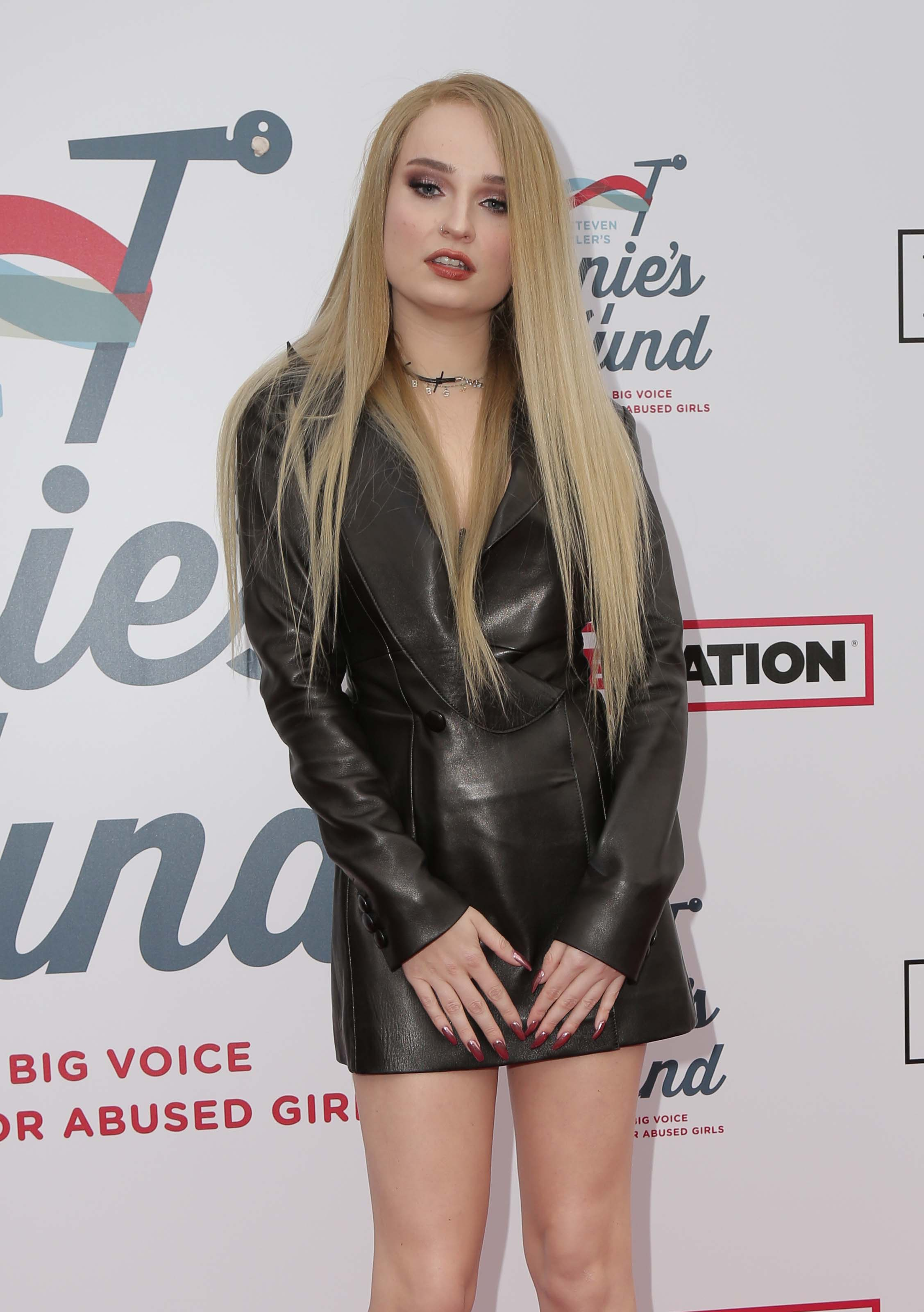 Kim Petras attends Steven Tyler's GRAMMY Awards Viewing Party