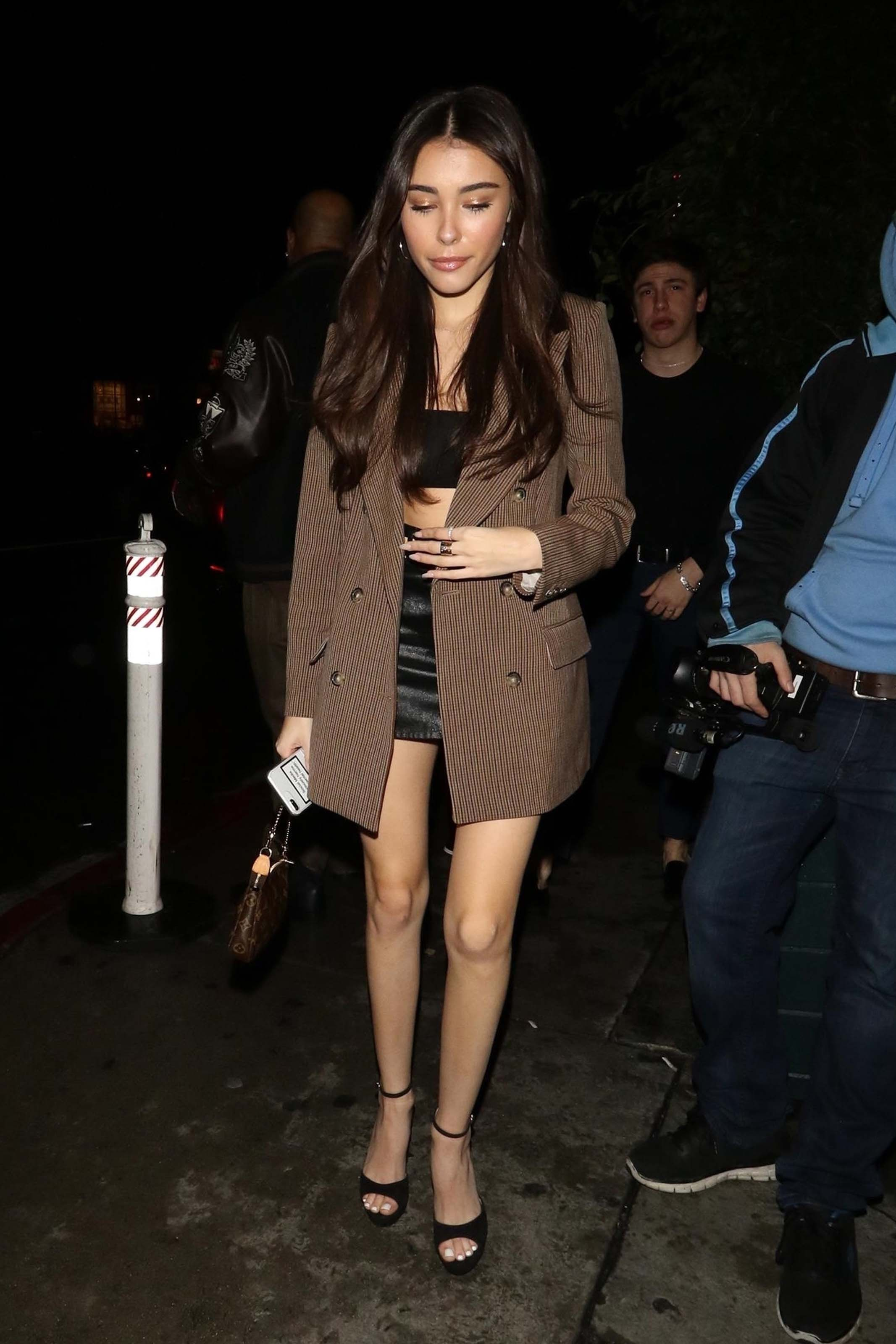 Madison Beer outside Poppy