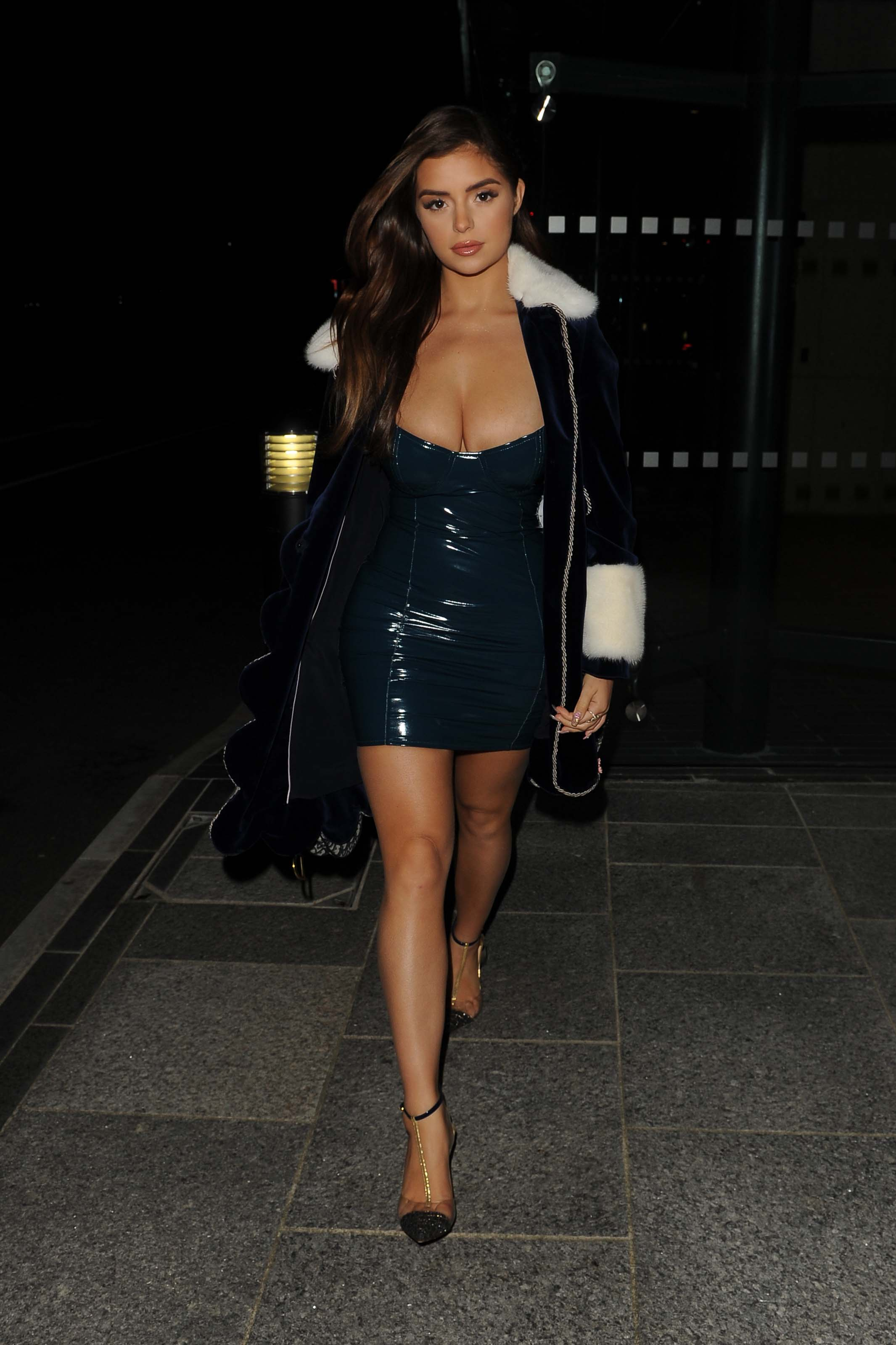 Demi Rose attends Brits after party