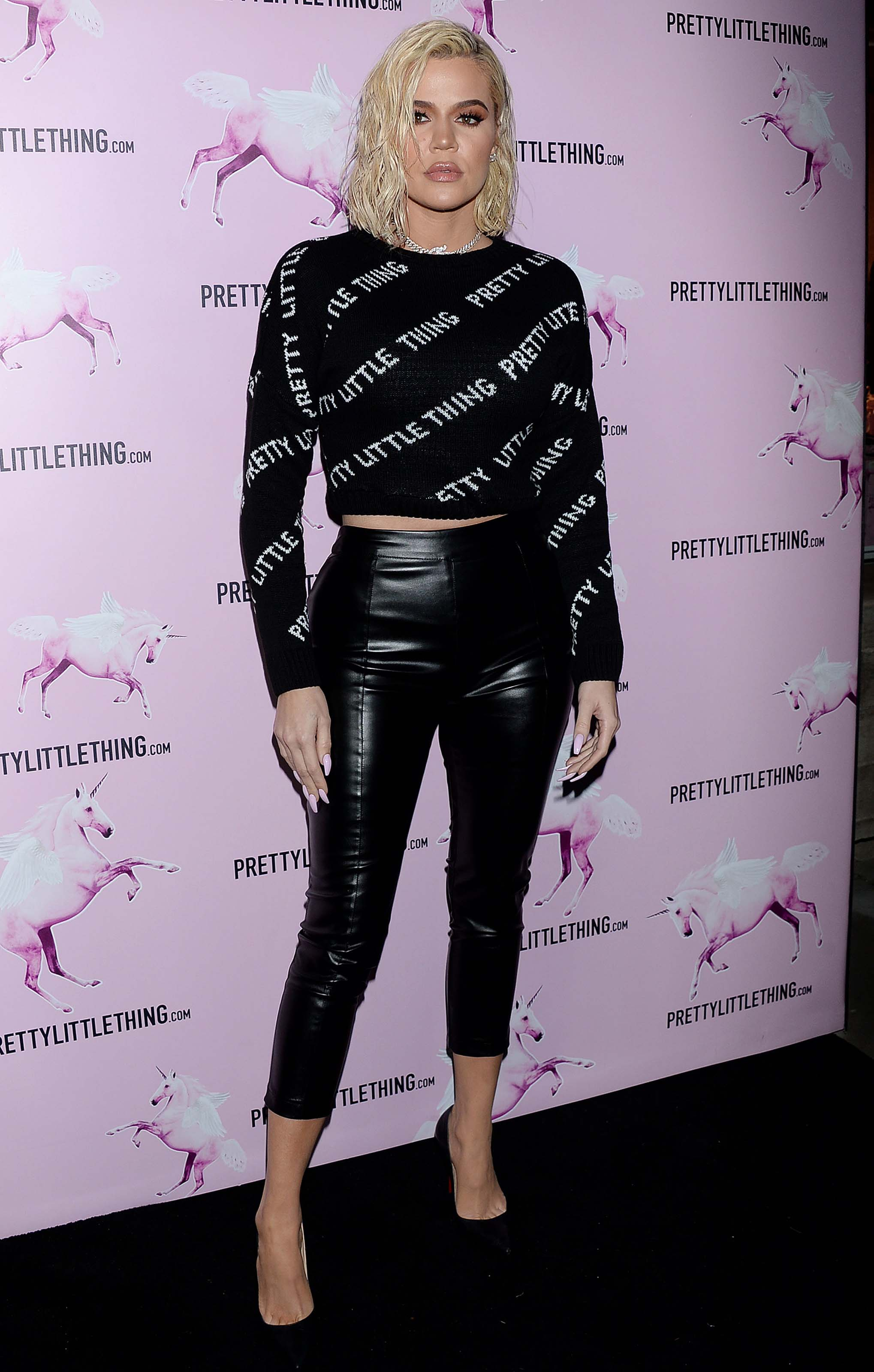 Khloe Kardashian attends PrettyLittleThing LA Office Opening Party
