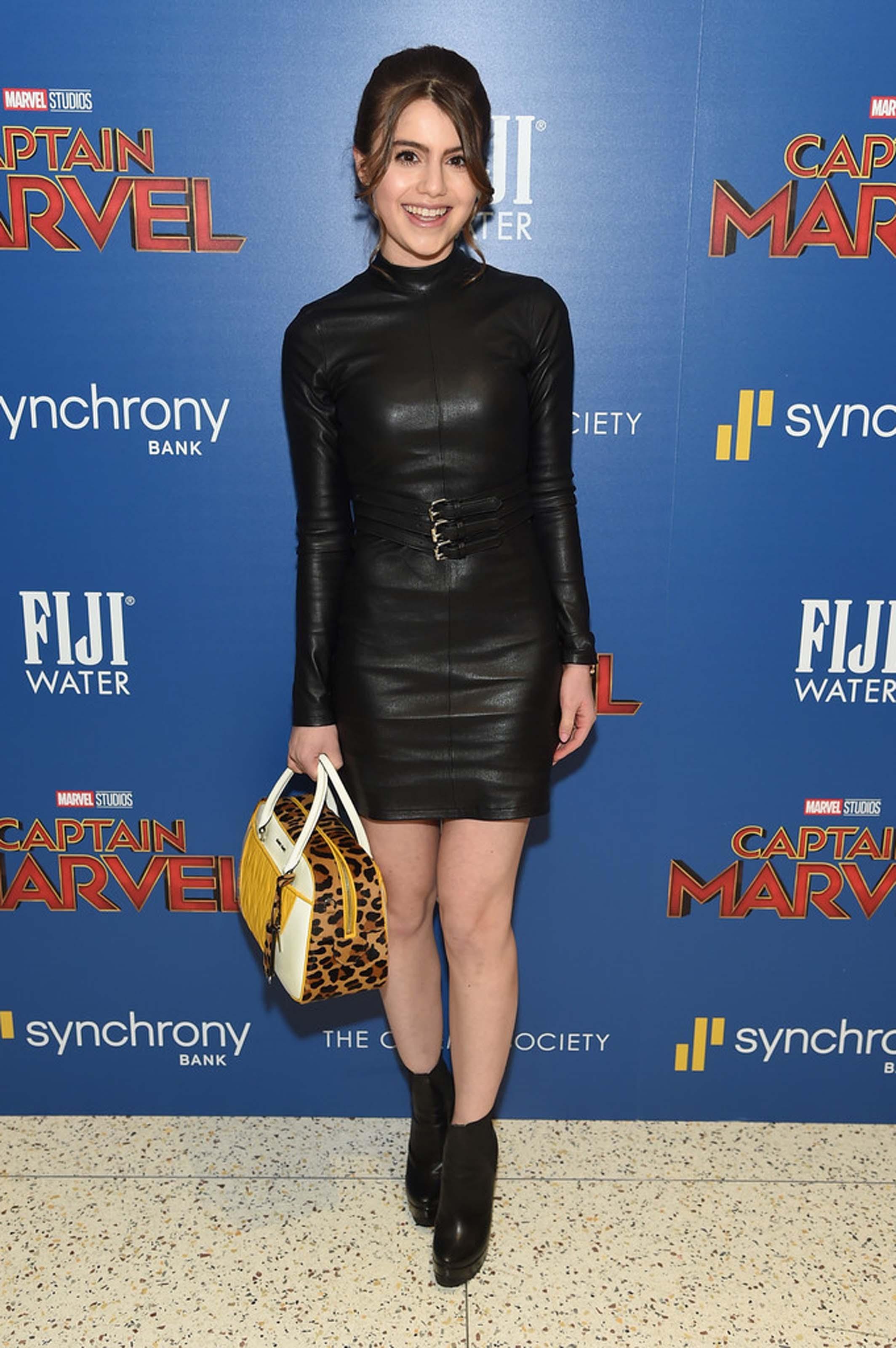 Sami Gayle attends Captain Marvel Screening