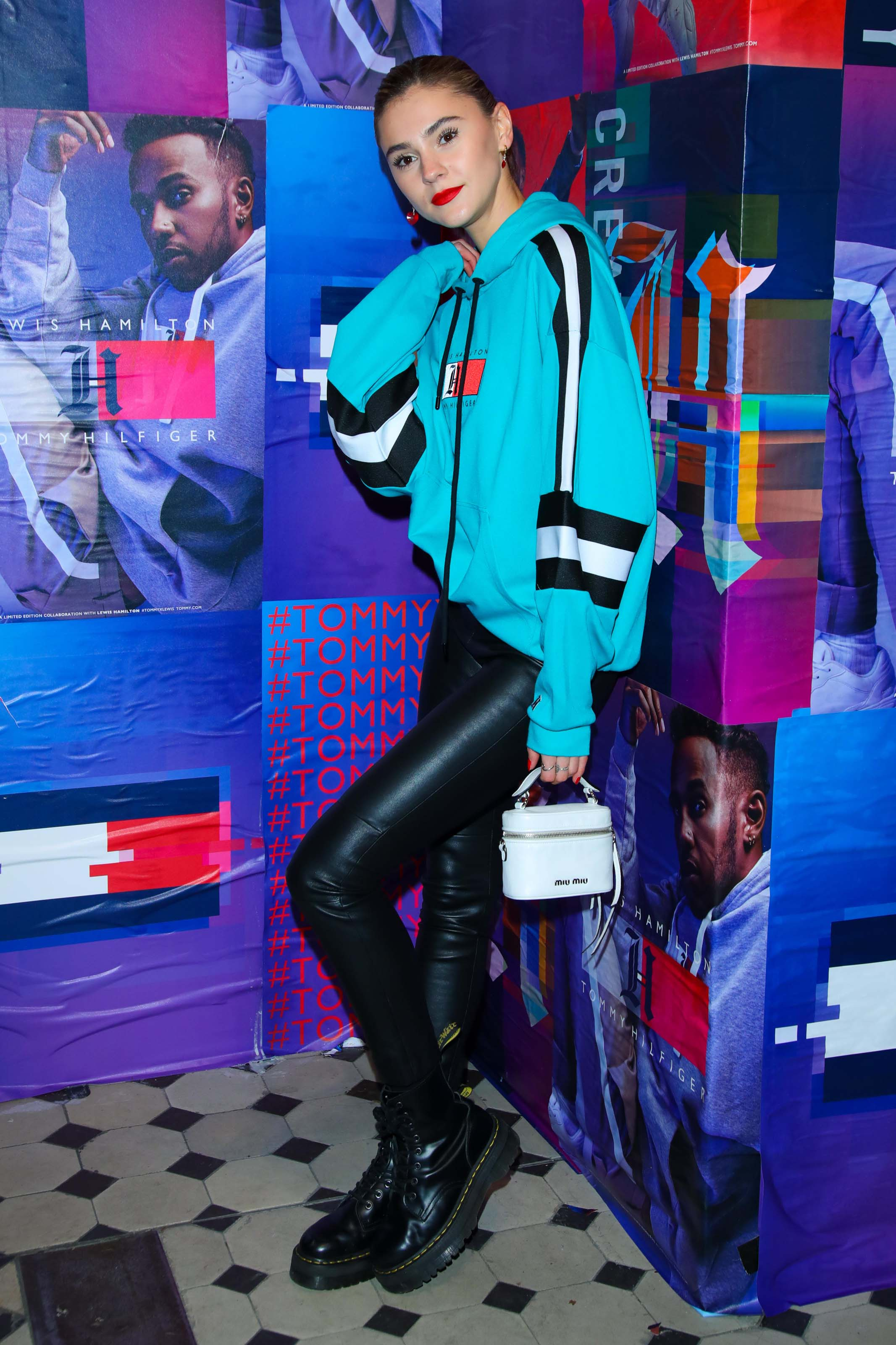 Stefanie Giesinger attends Tommy Hilfiger CREATExUNITY Event