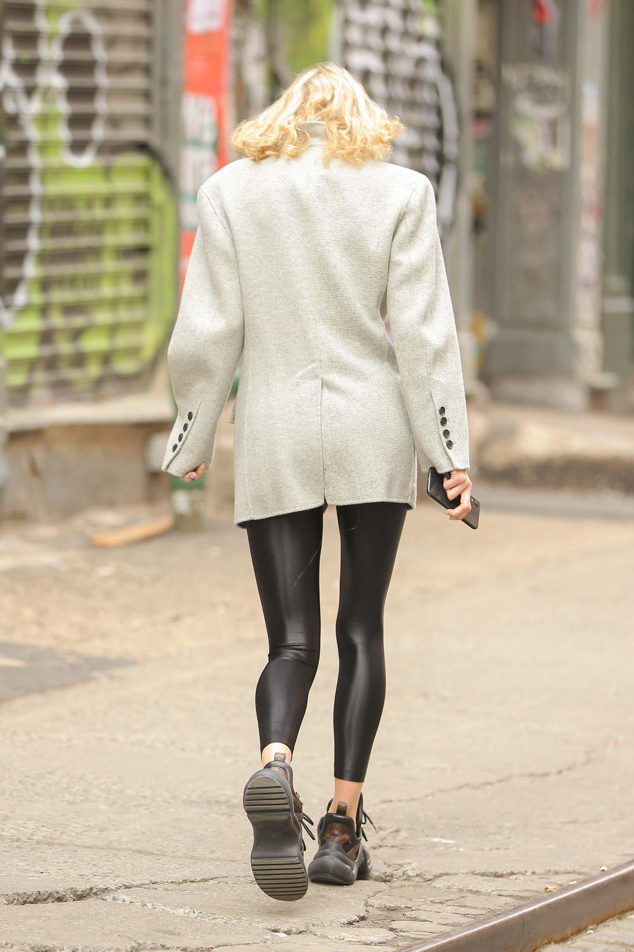Elsa Hosk out in NYC