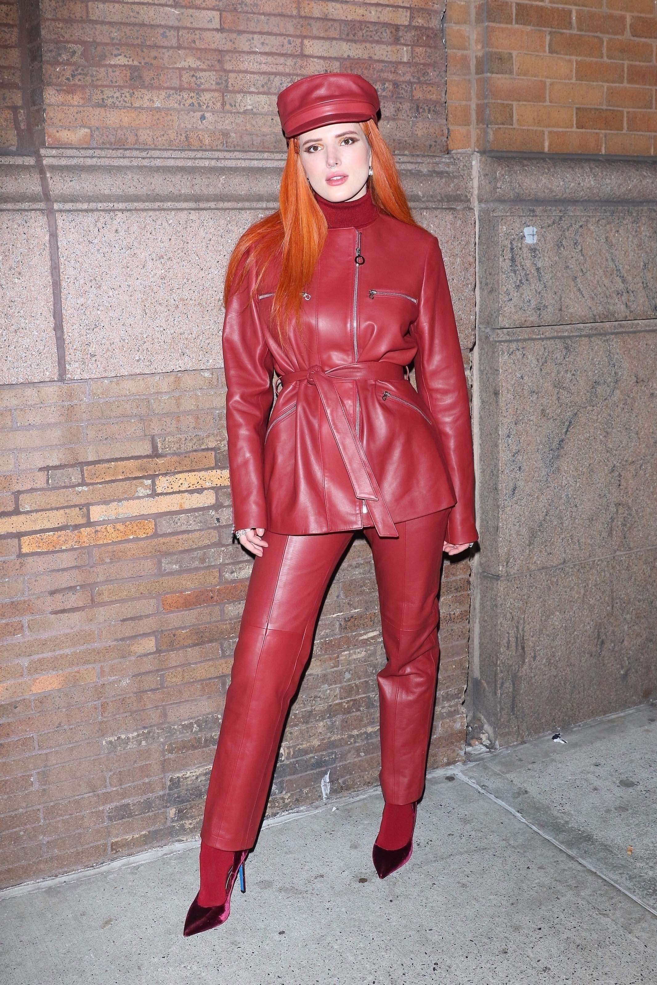 Bella Thorne leaving Carnegie Hall