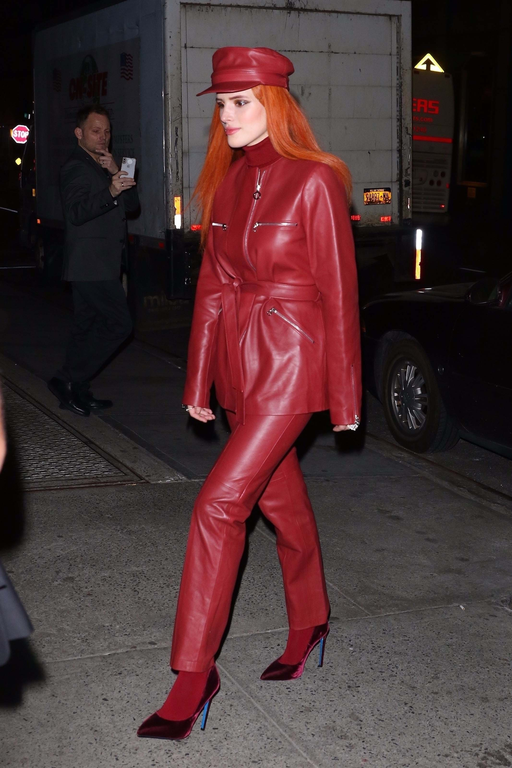 Bella Thorne leaving Carnegie Hall