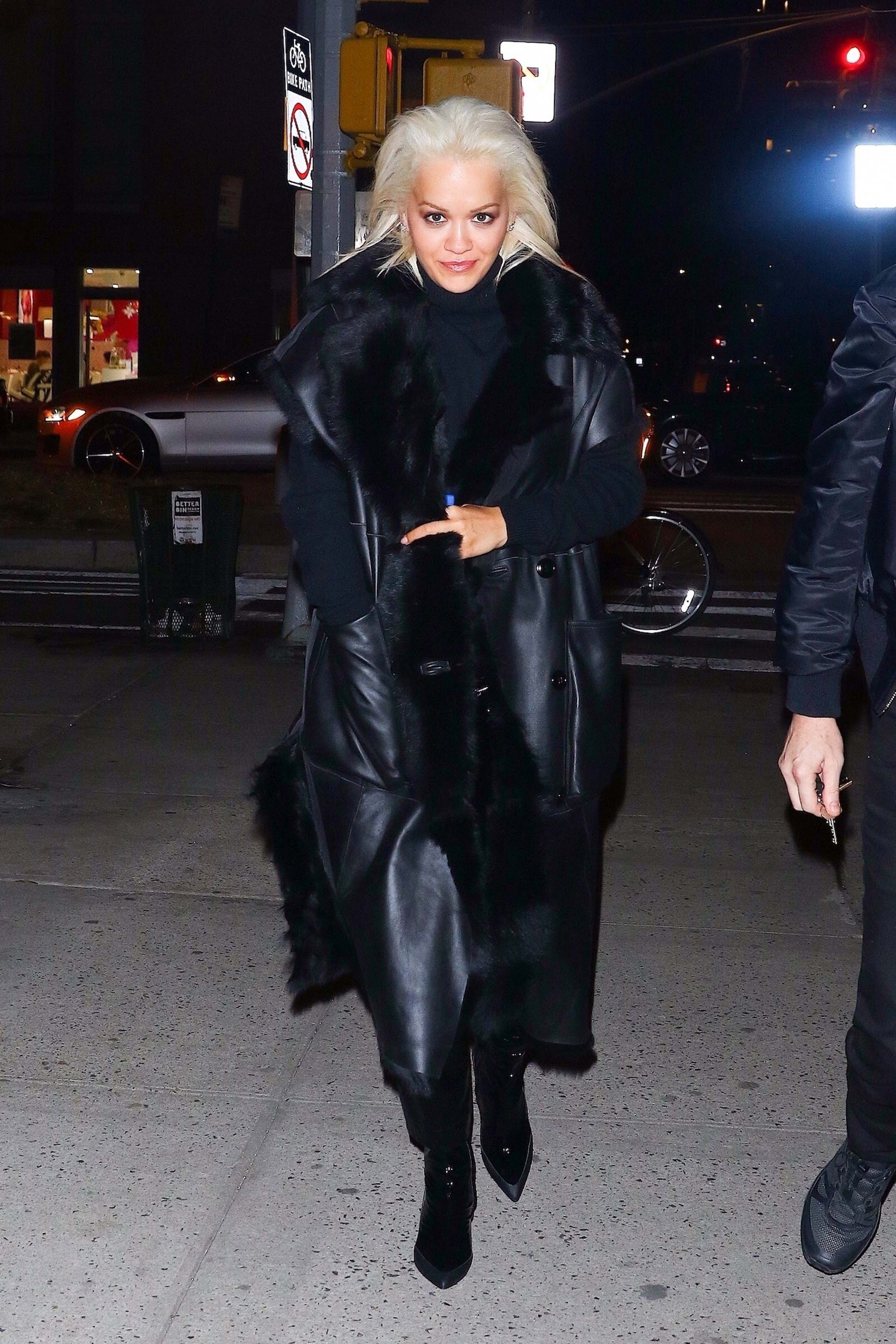Rita Ora out in NYC