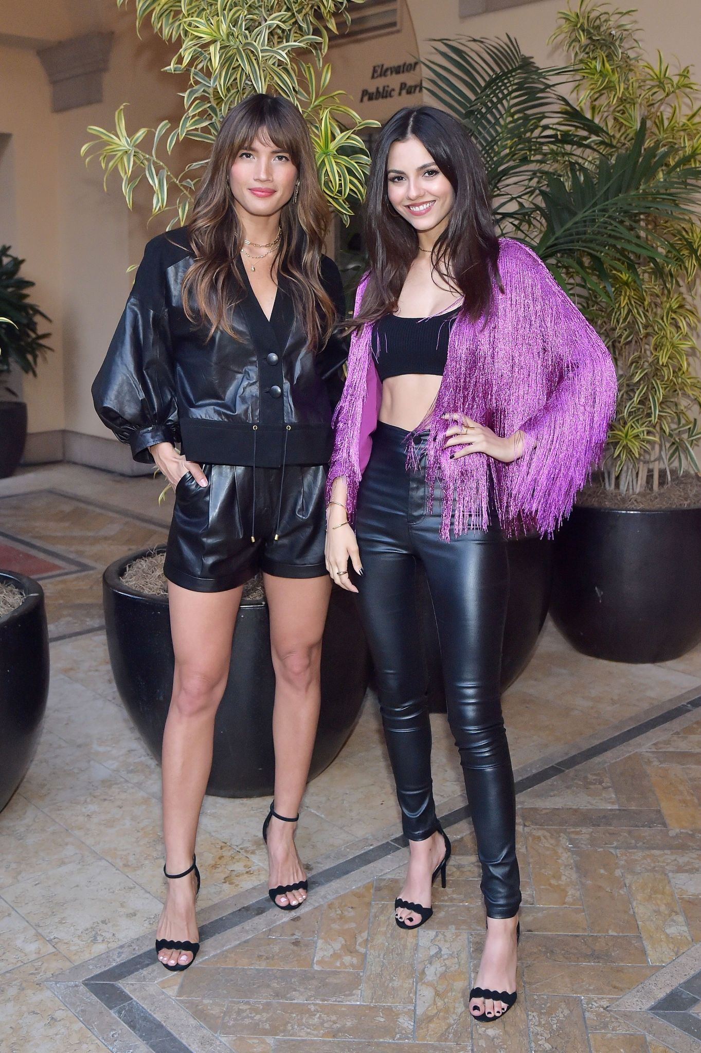 Victoria Justice attending Spring 2019 Box of Style