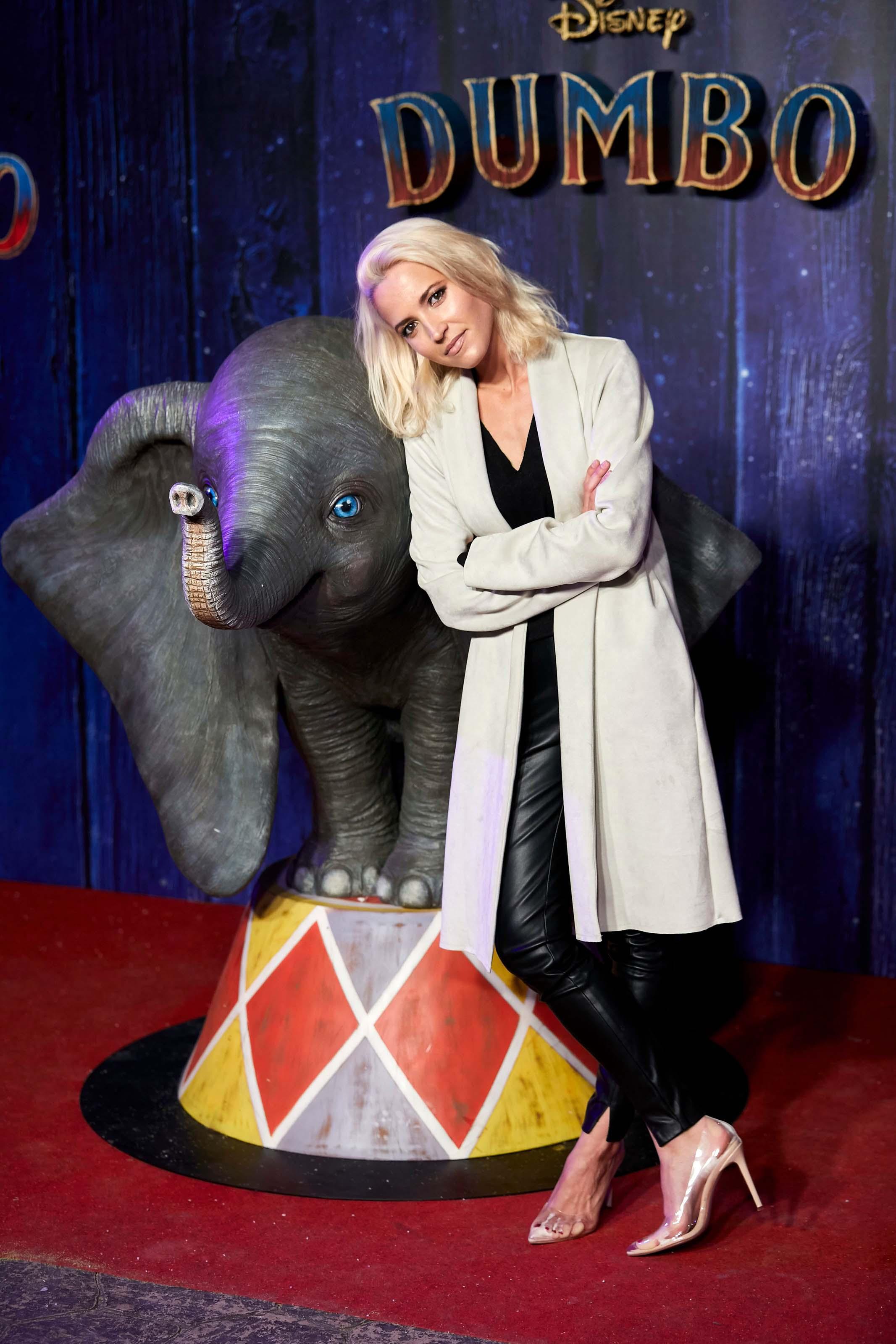 Ana Fernandez attends Dumbo film premiere