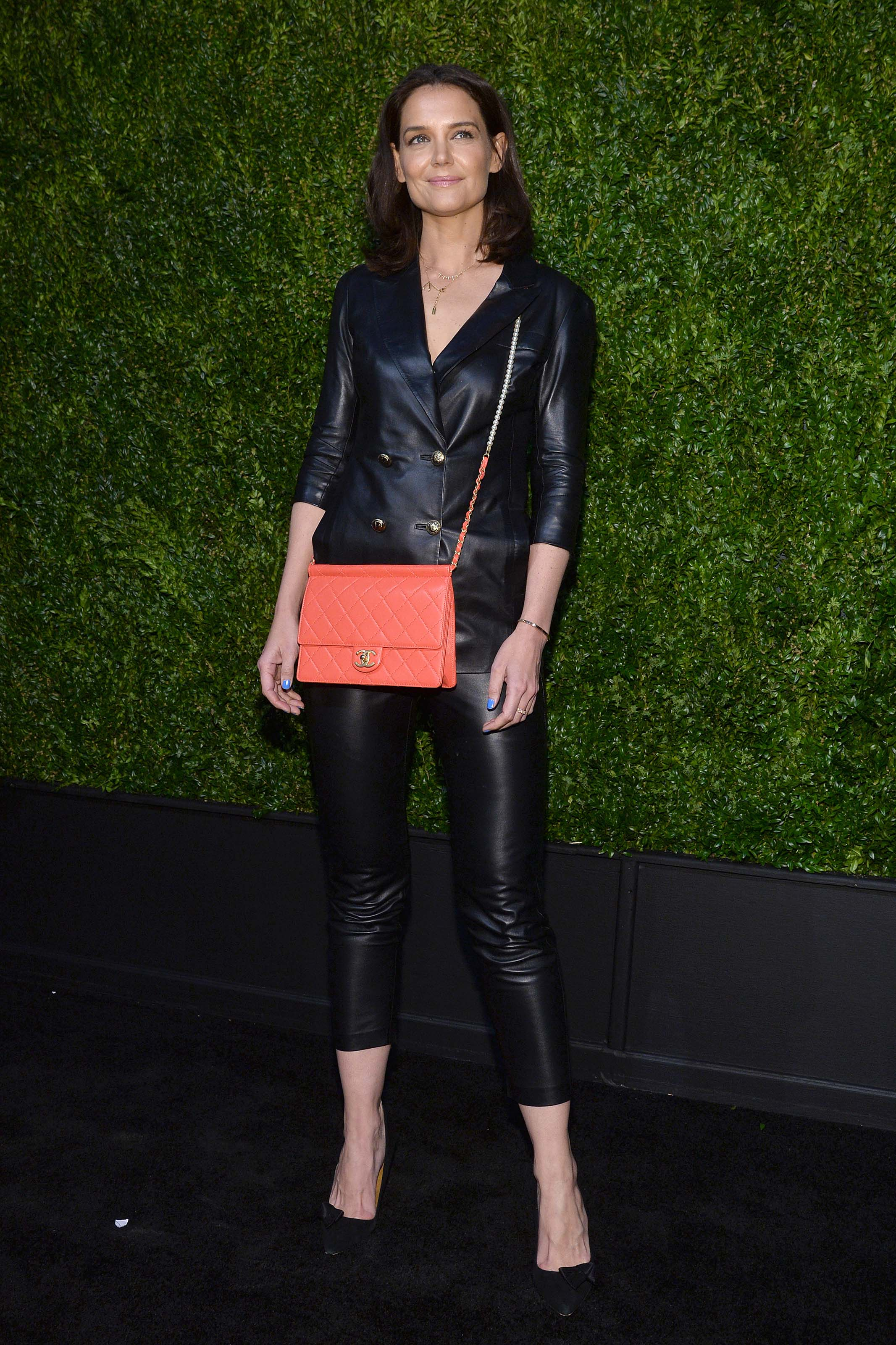 Katie Homes attends 14th Annual Tribeca Film Festival Artists Dinner hosted by Chanel in New York Ci