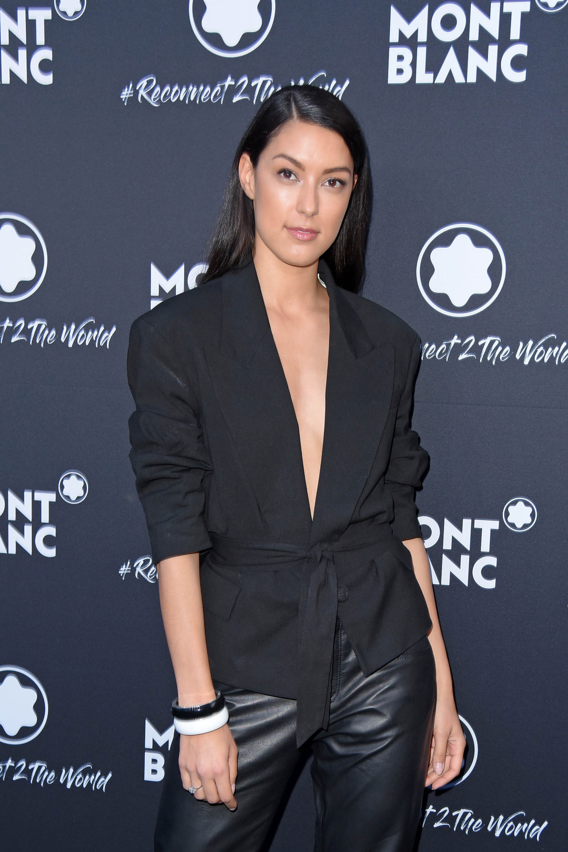 """Rebecca Mir attends Montblanc #Reconnect 2 The World Party im Metropol-Theater in Berlin-Mitte"""" (24."""