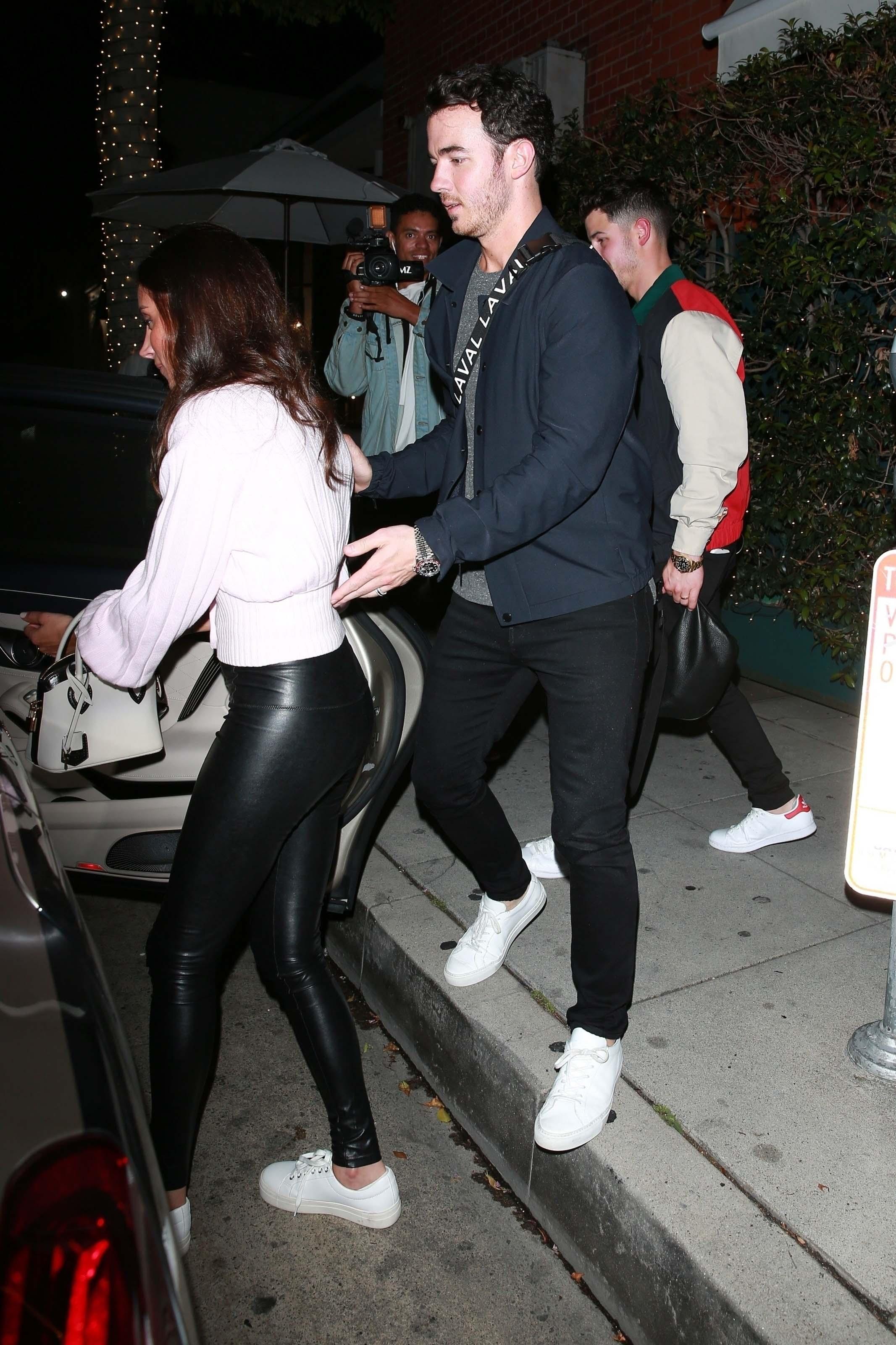 Danielle Jonas leaving Mr Chow in Beverly Hills 04/29/2019