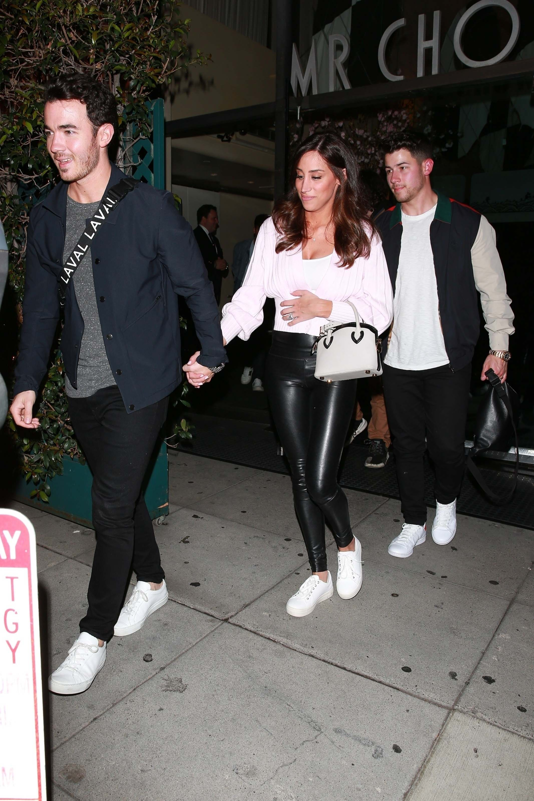 Danielle Jonas leaving Mr Chow in Beverly Hills 04/29/2019