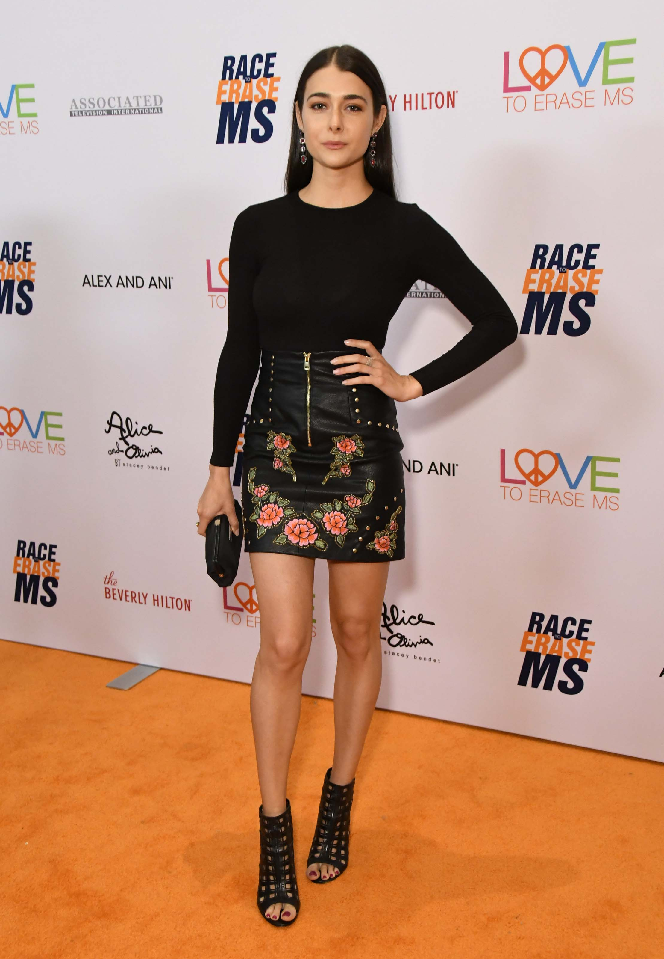 Allison Paige attends 26th Annual Race to Erase MS Gala