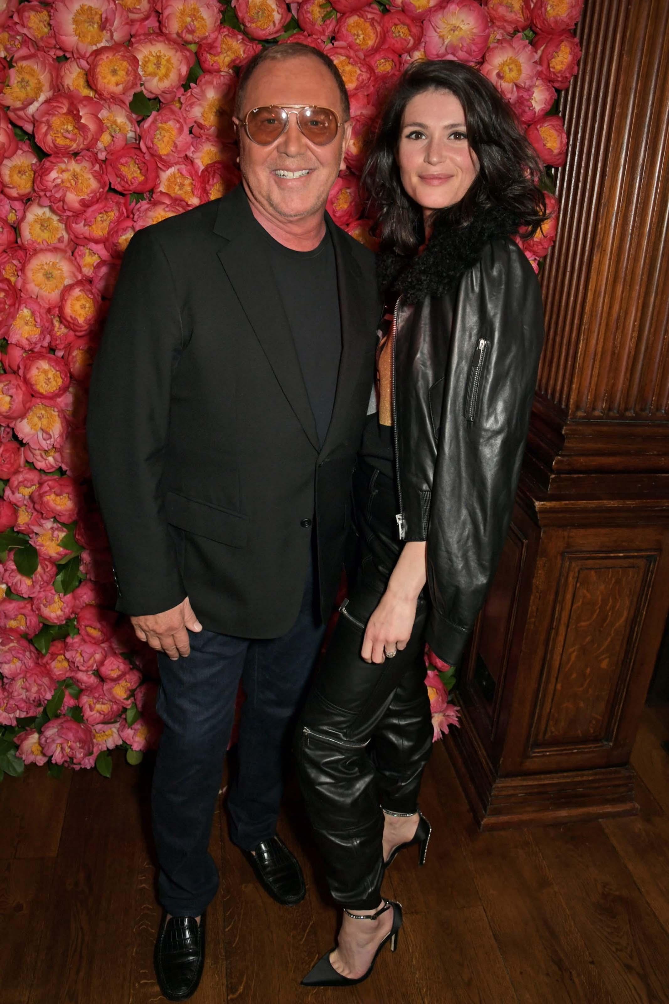 Gemma Arterton attends Michael Kors Dinner Party