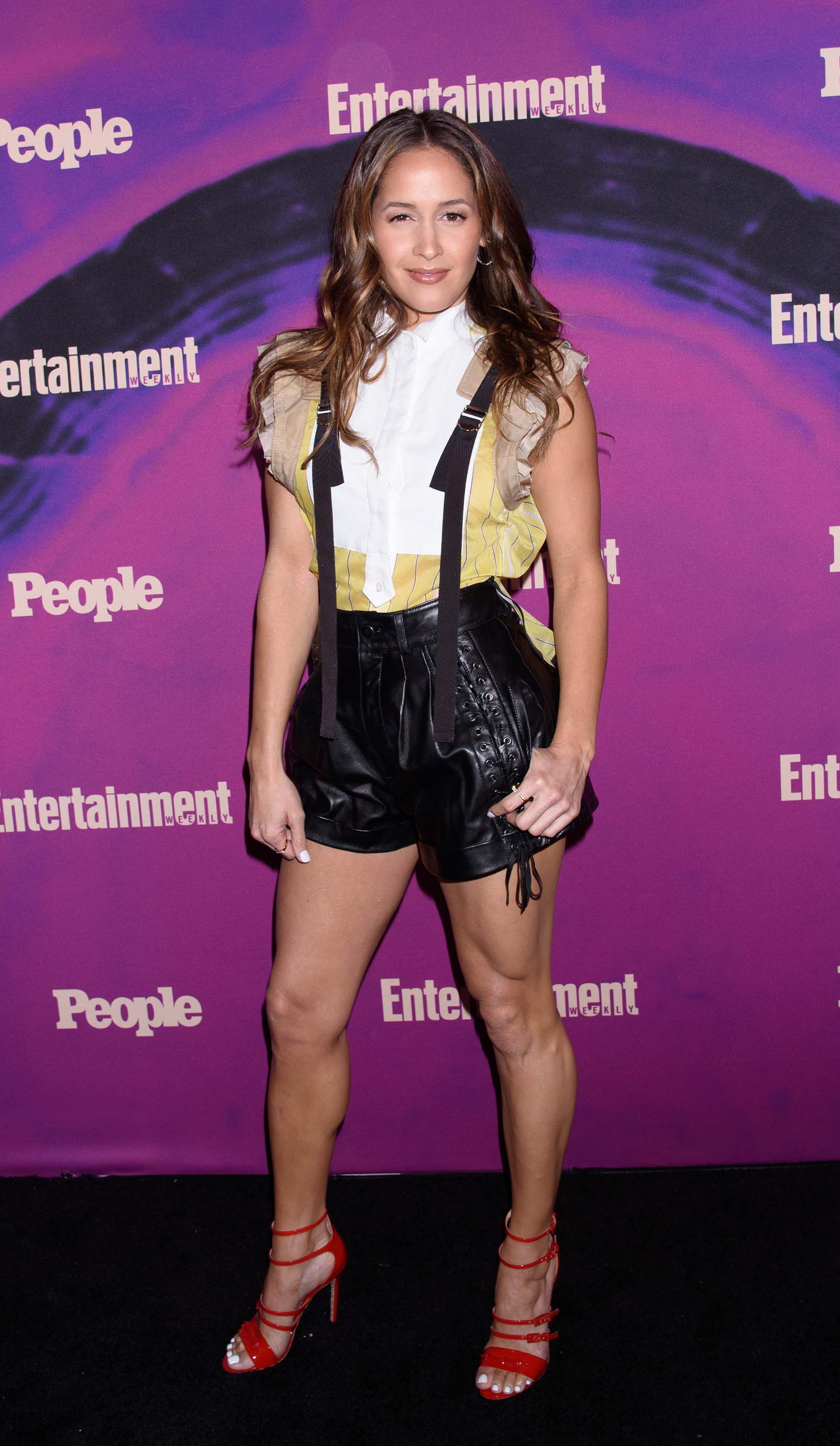 Jaina Lee Ortiz attends Entertainment Weekly and People Magazine Upfront Party