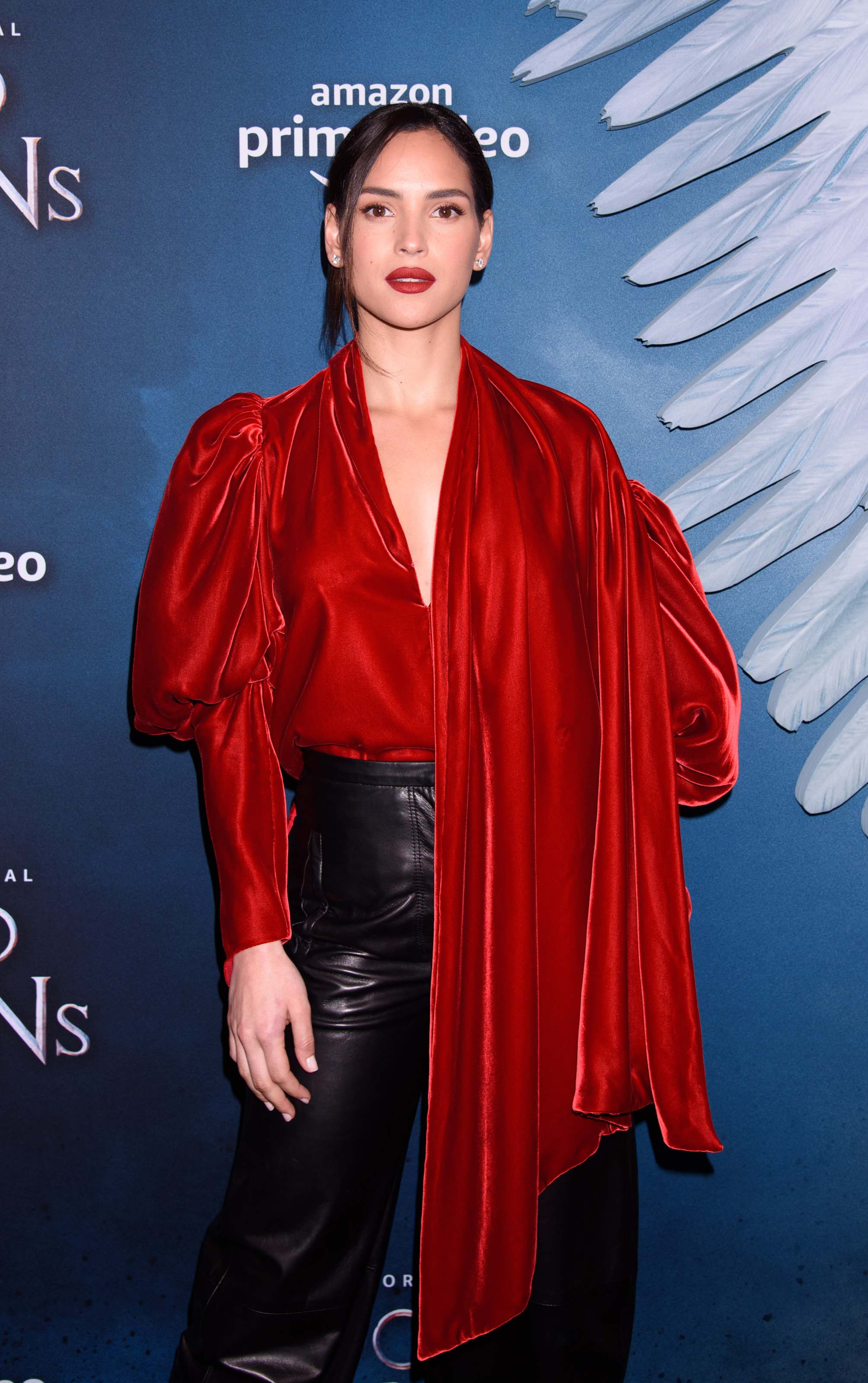 Adria Arjona attends Good Omens Amazon Prime Original screening