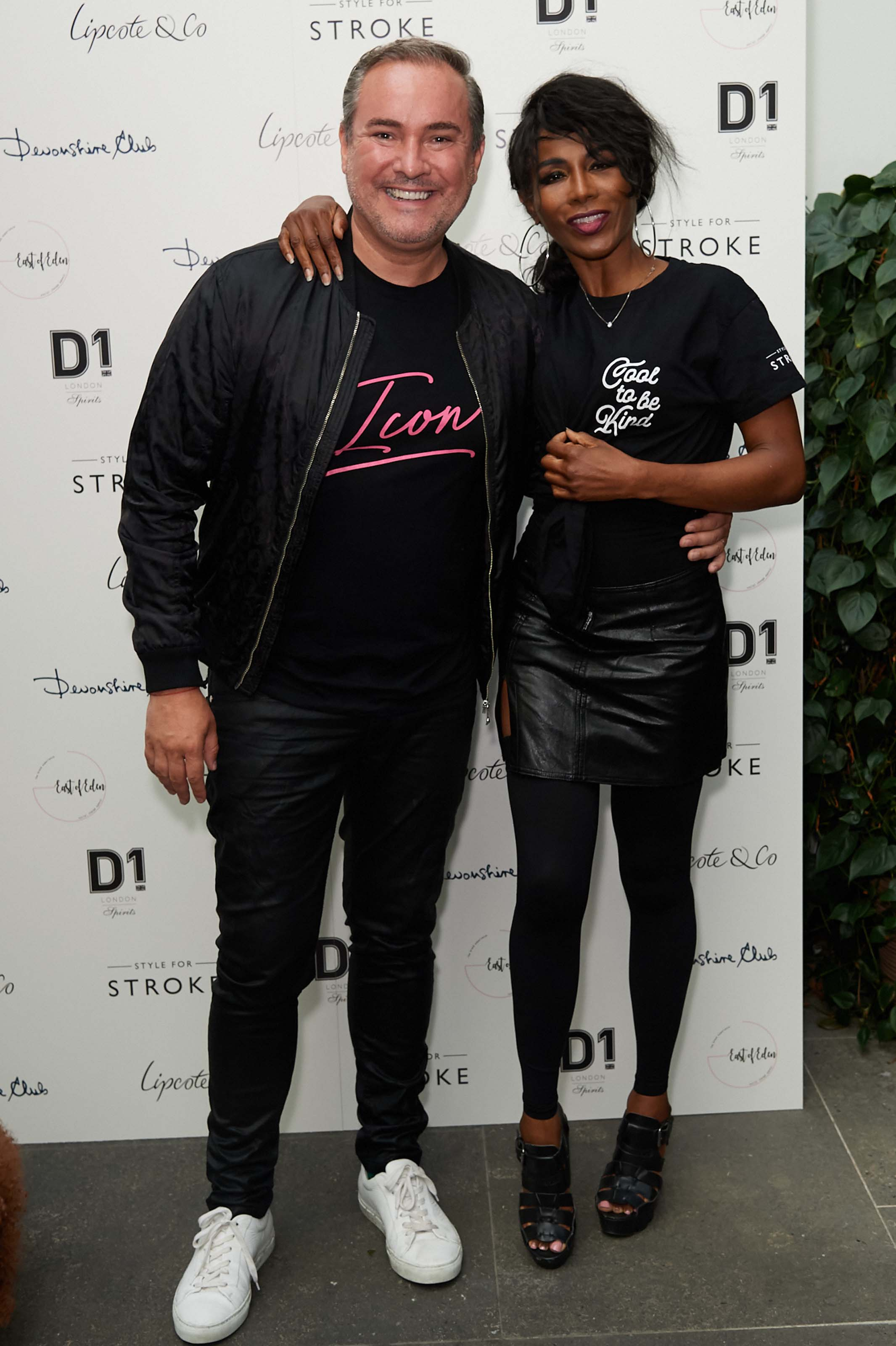 Sinitta attends Style for Stroke Launch Party