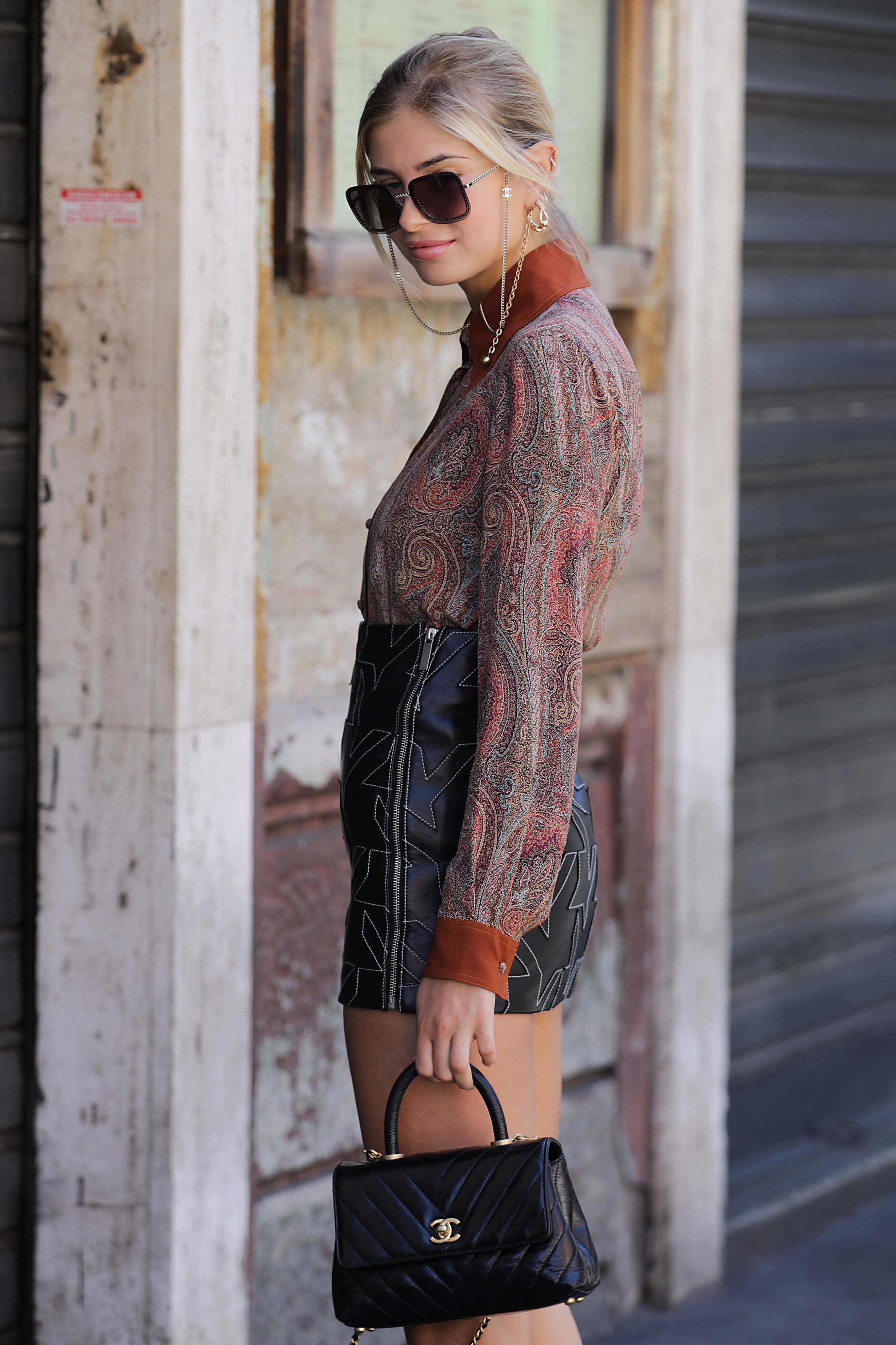 Xenia Adonts attends Etro SS2020 Show
