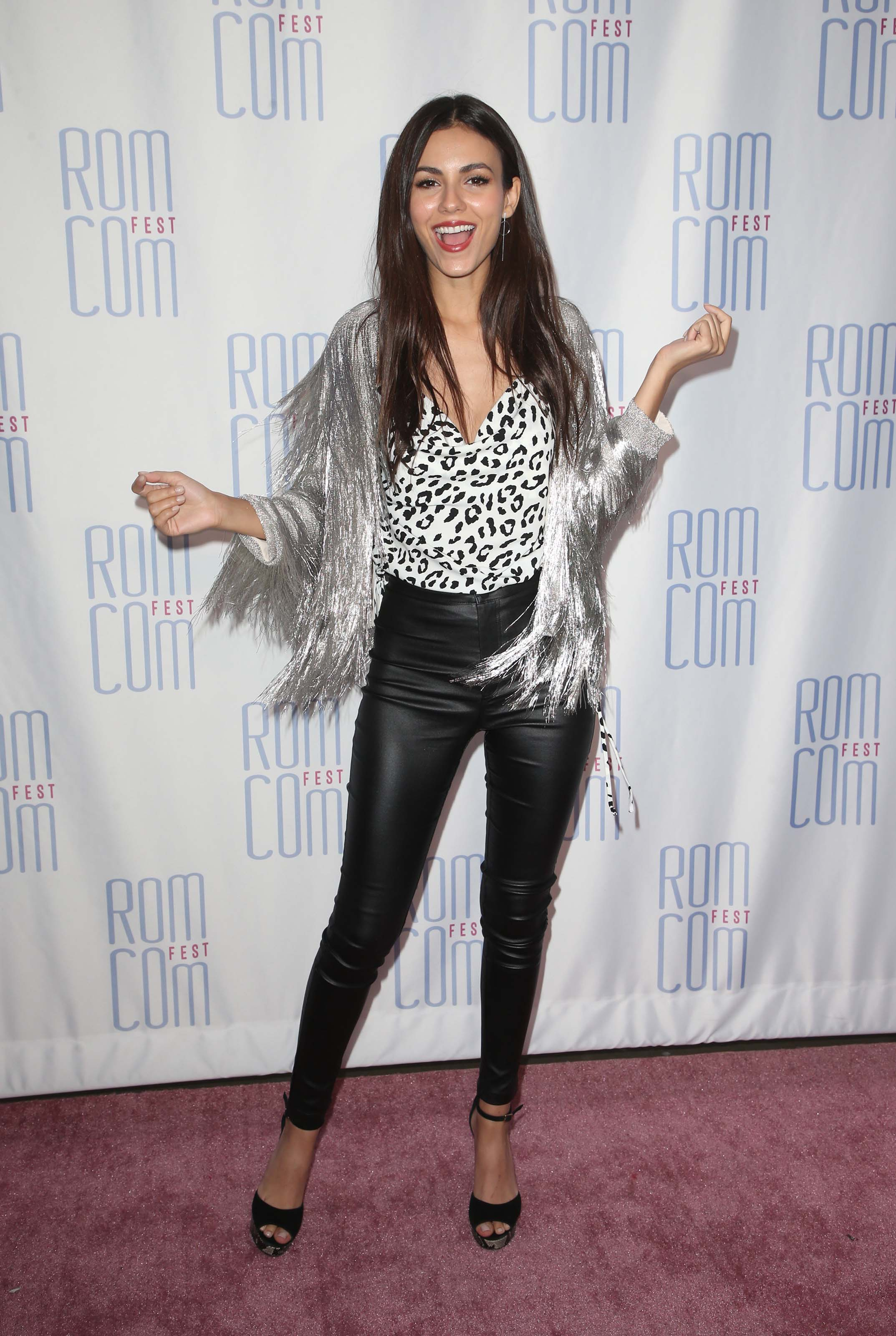 Victoria Justice attends 2019 Rom Con Fest Los Angeles screening of Summer Night