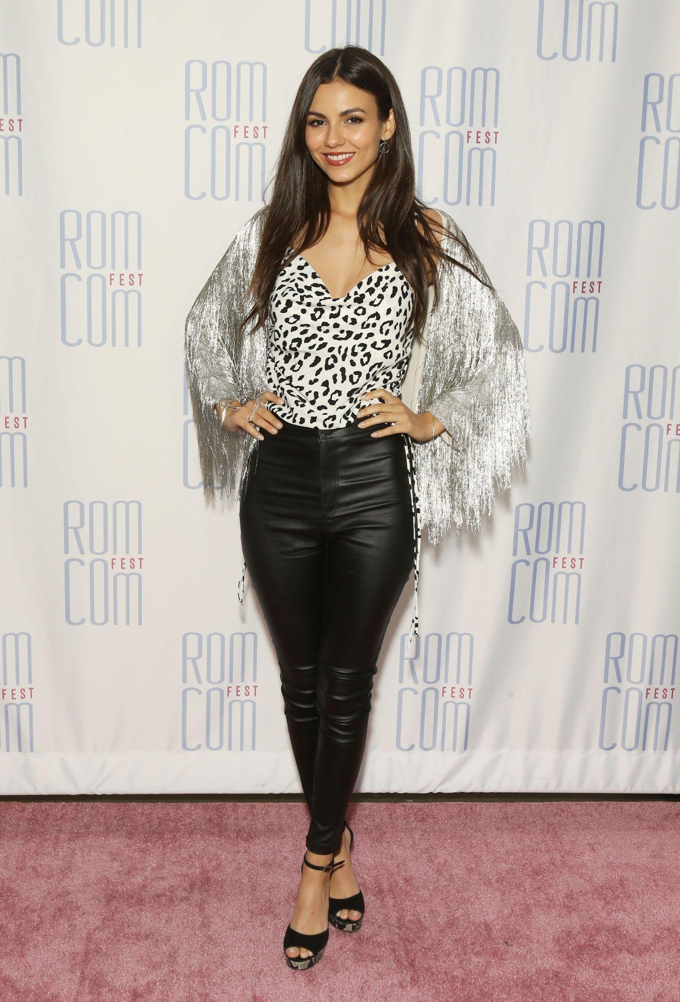 Victoria Justice attends 2019 Rom Con Fest Los Angeles screening of Summer Night