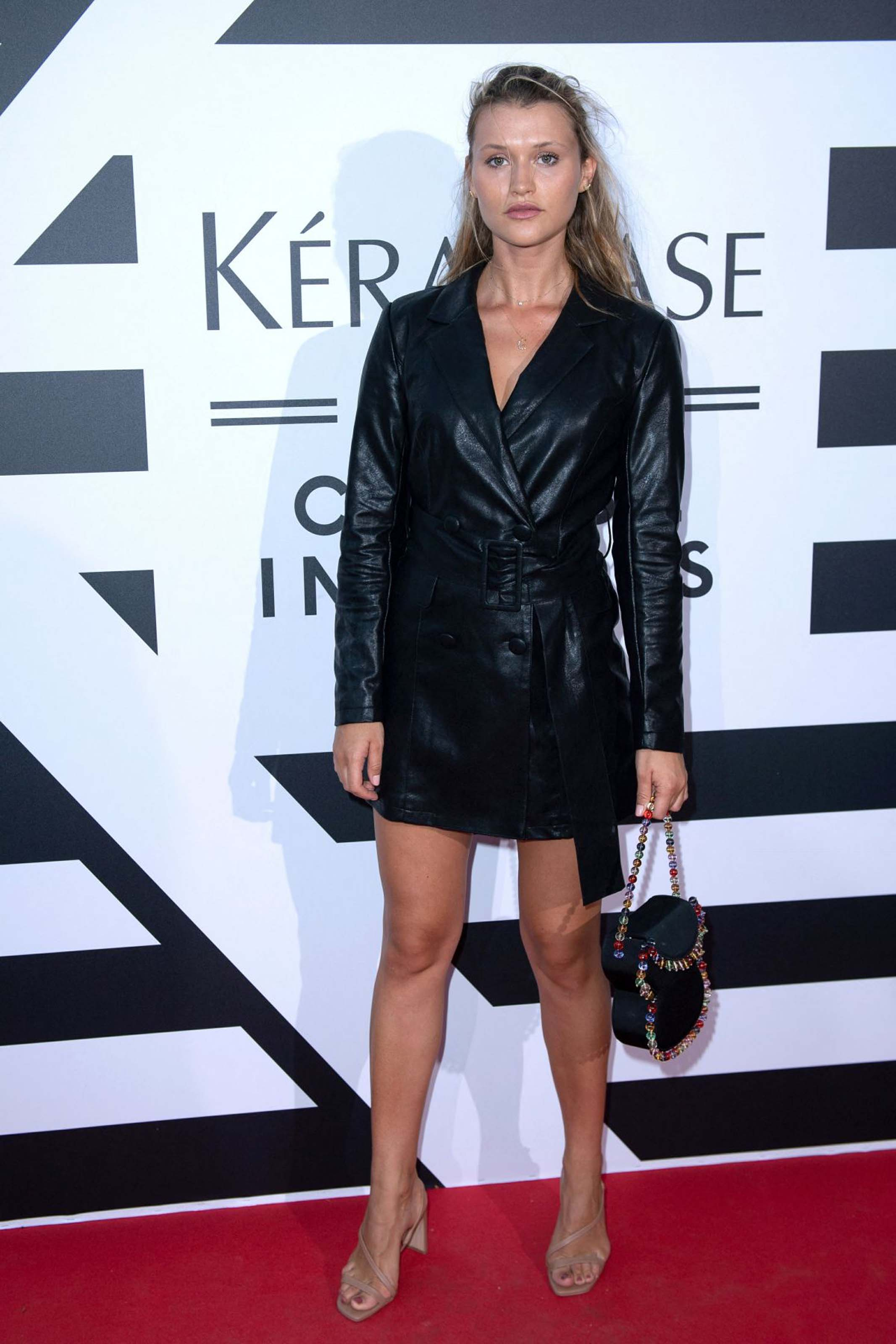 Chloe Lecareux attends Kerastase party