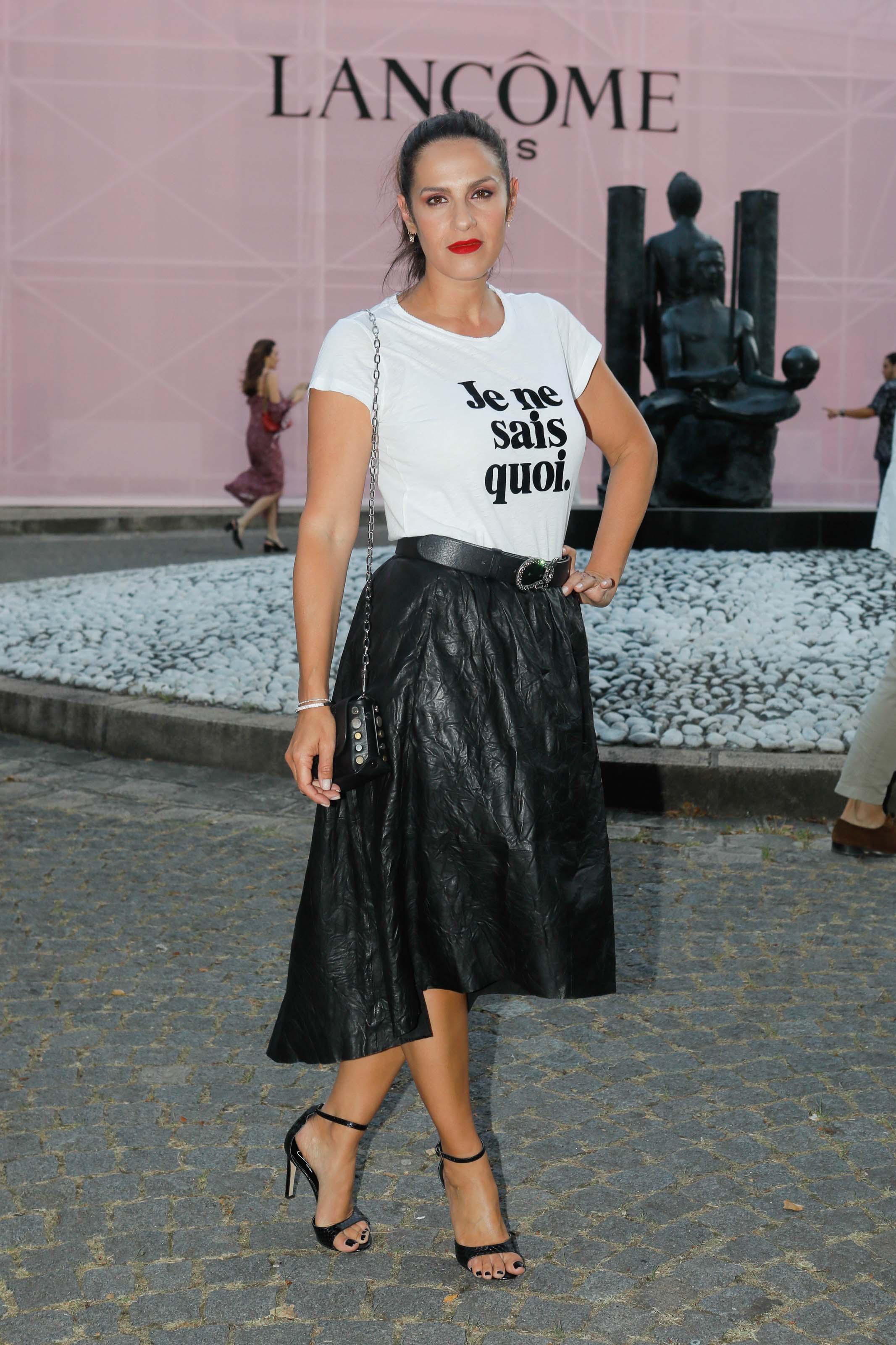 Elisa Tovati attends Lancome party