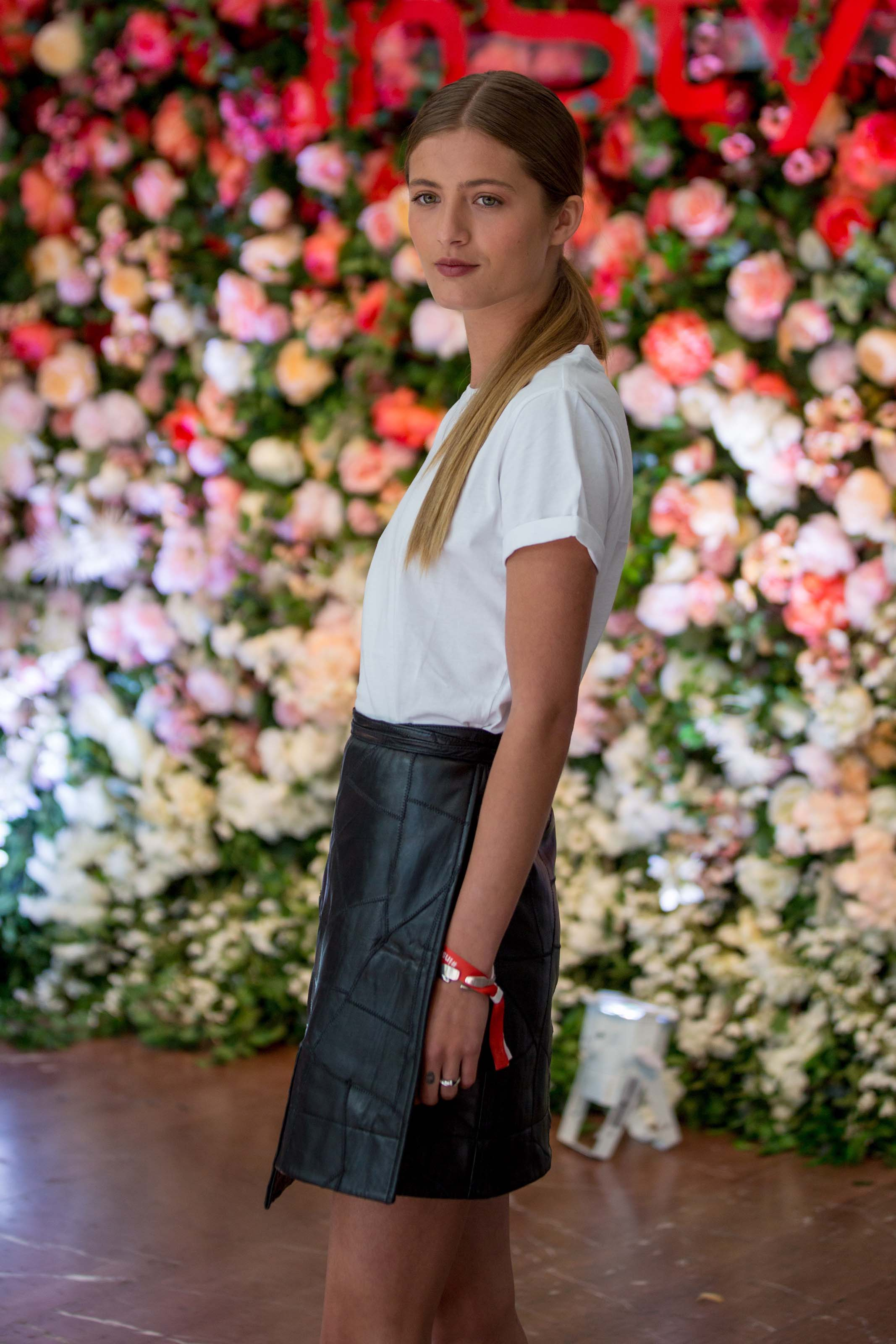 Lilli Schweiger attends InStyle Lounge Party