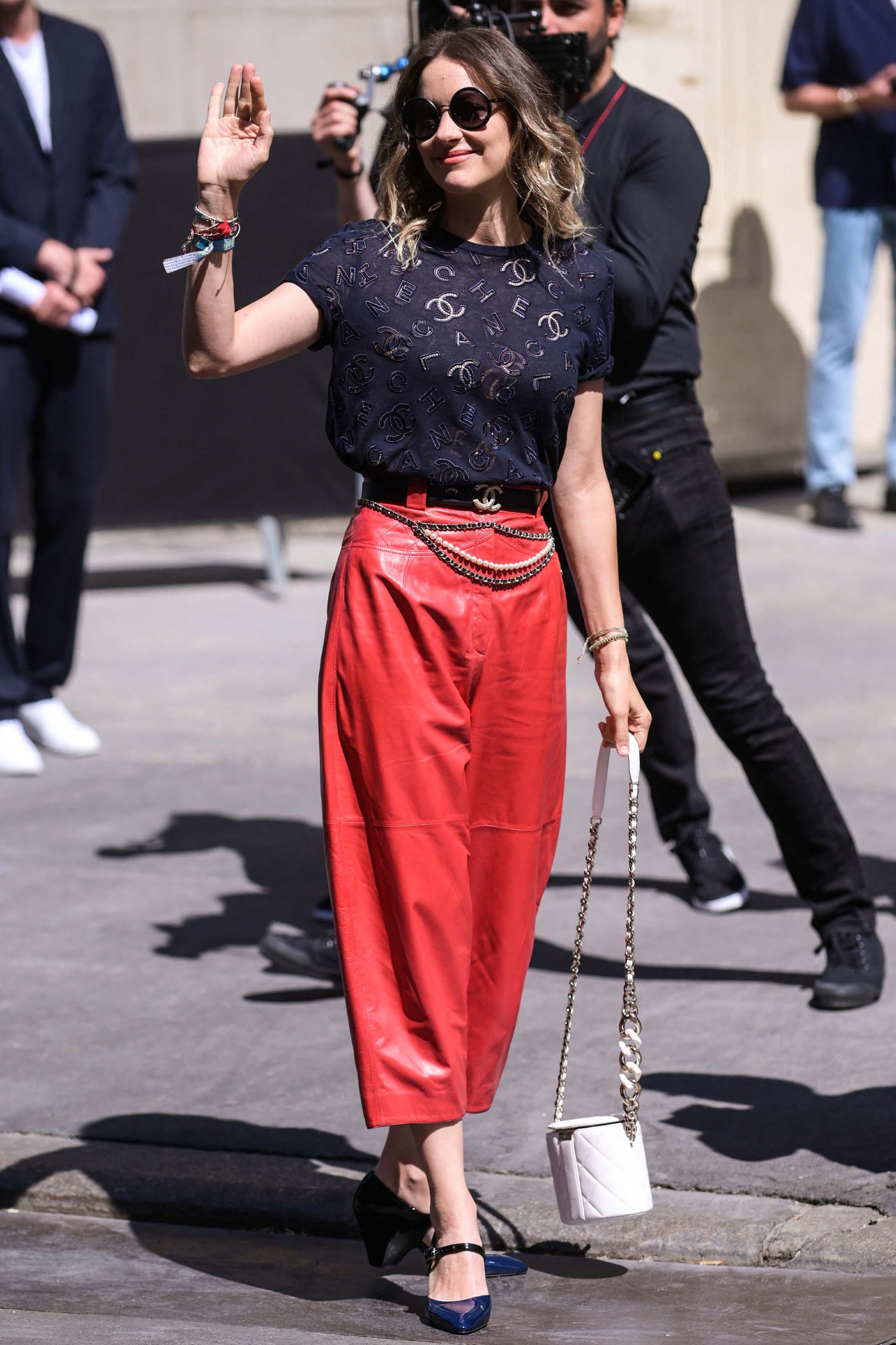 Marion Cotillard attends Chanel Haute Couture