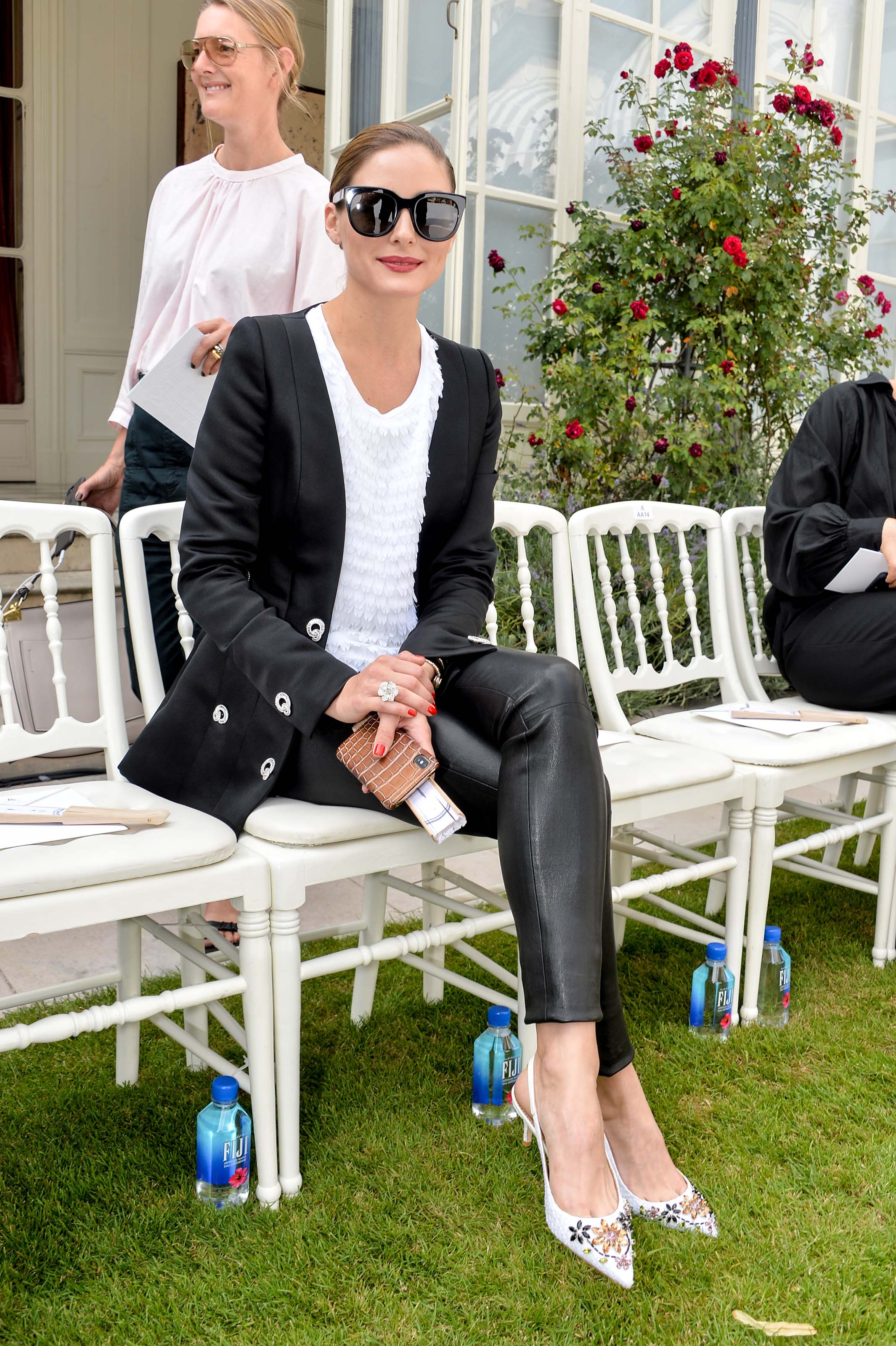 Olivia Palermo attends Ralph and Russo show