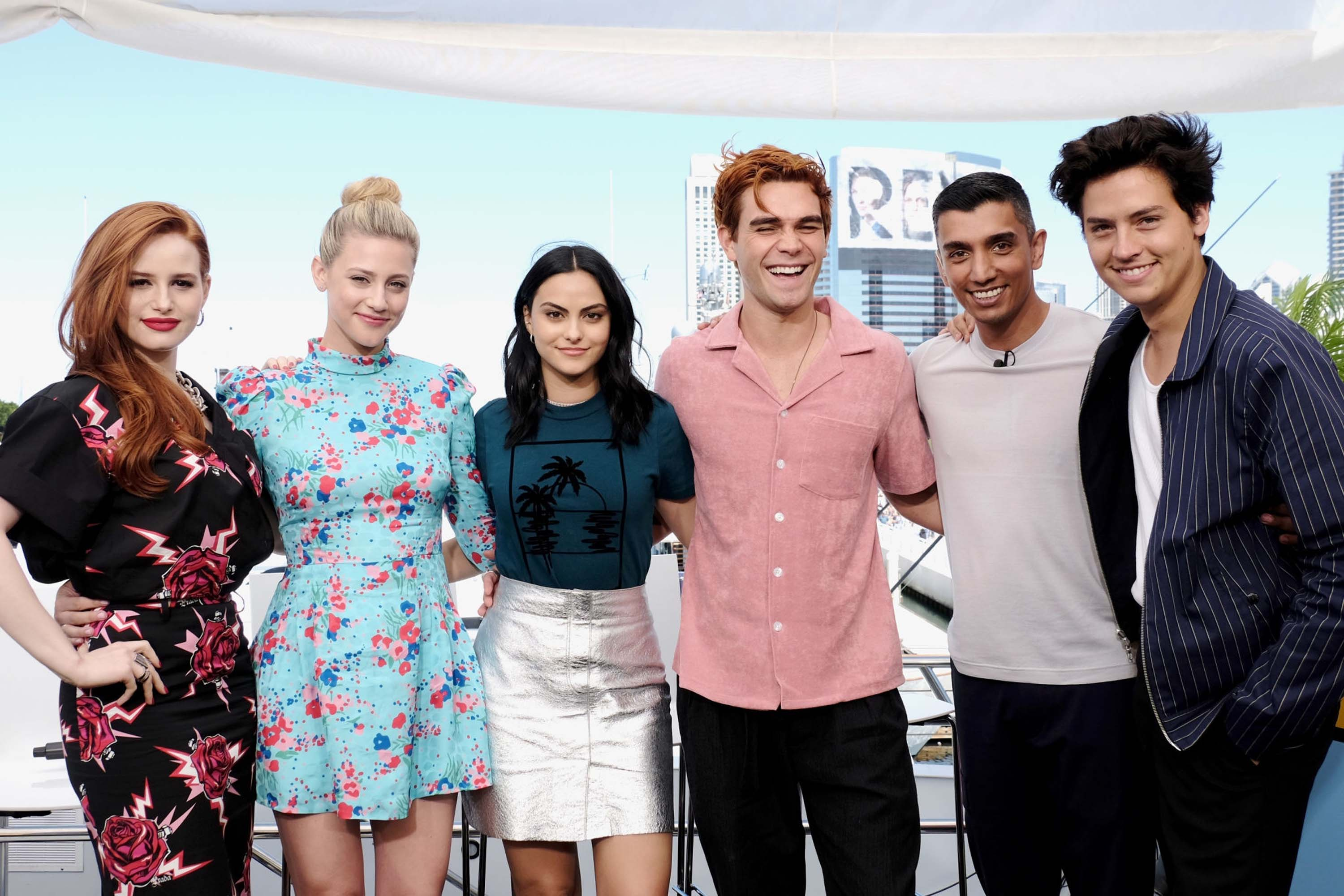 Camila Mendes attends IMDboat At San Diego Comic-Con
