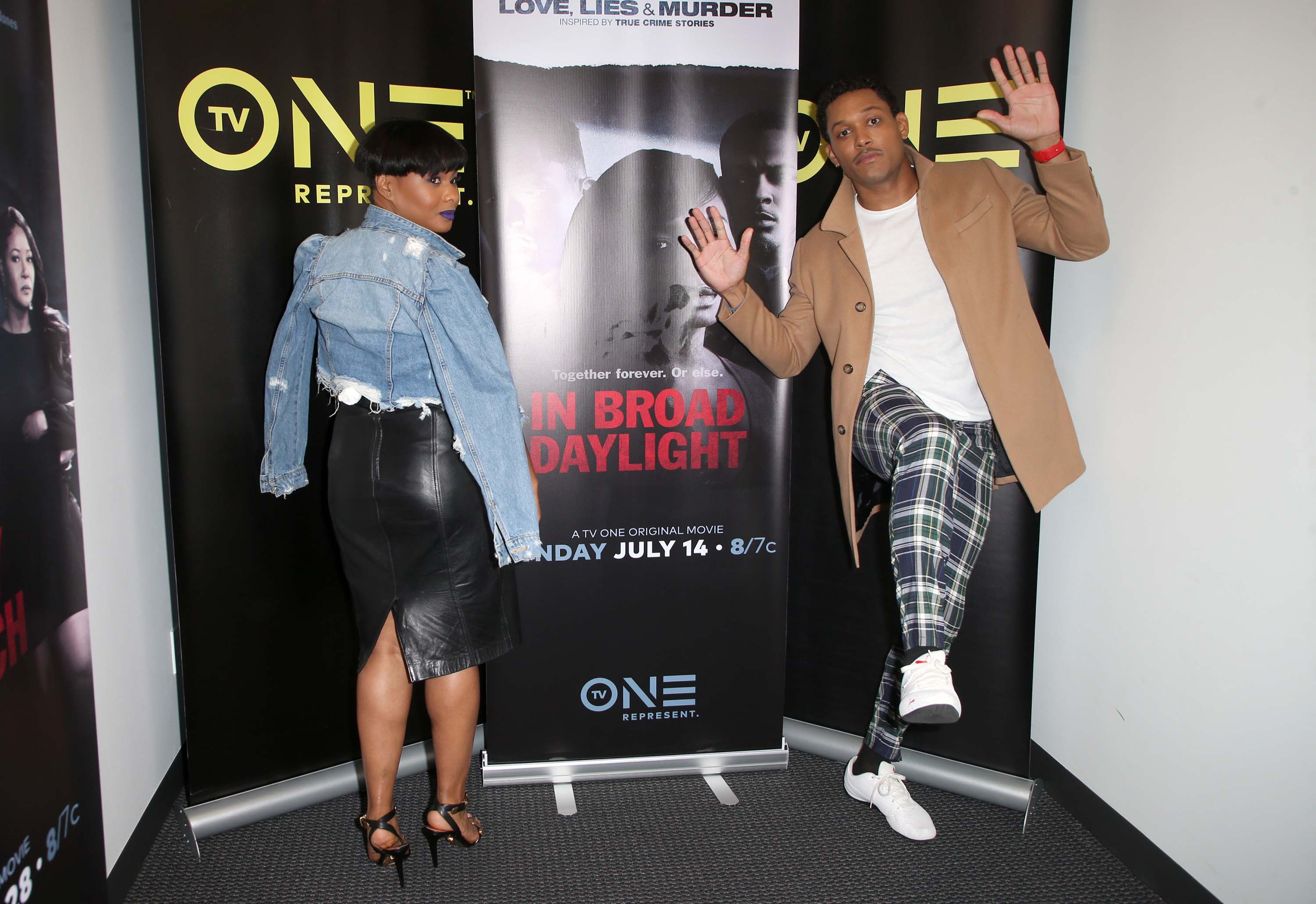 Chyna Layne attends LA Press Junket For TV One's A Month Of Love