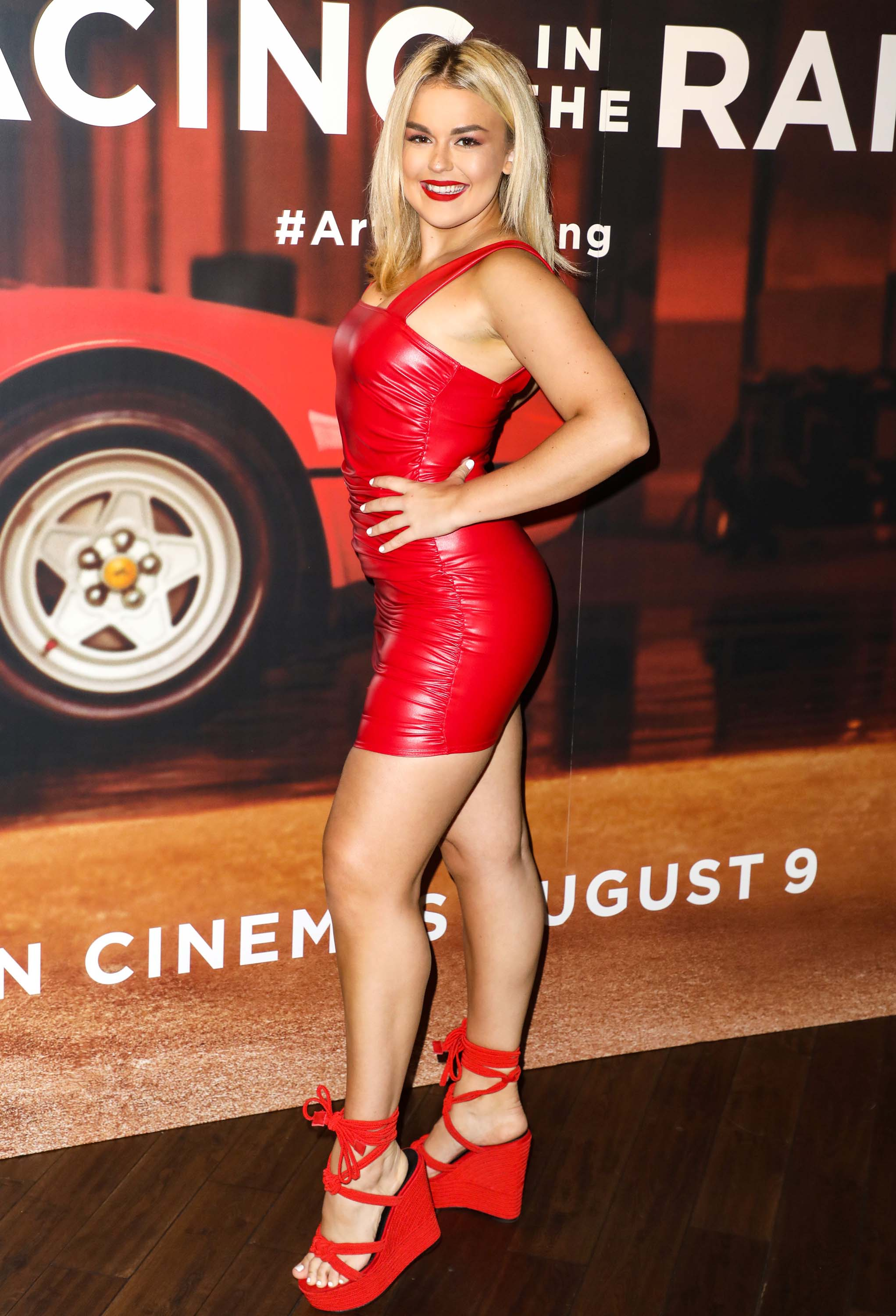 Tallia Storm attends The Art of Racing in the Rain