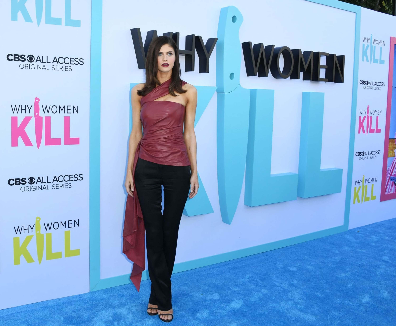 Alexandra Daddario attends Why Women Kill Premiere