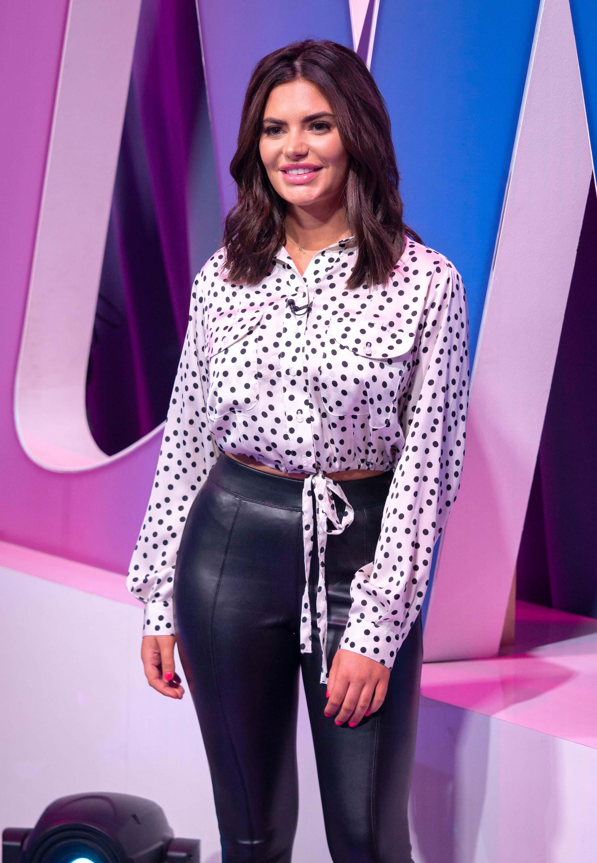 Megan Barton-Hanson attends Loose Women TV Show