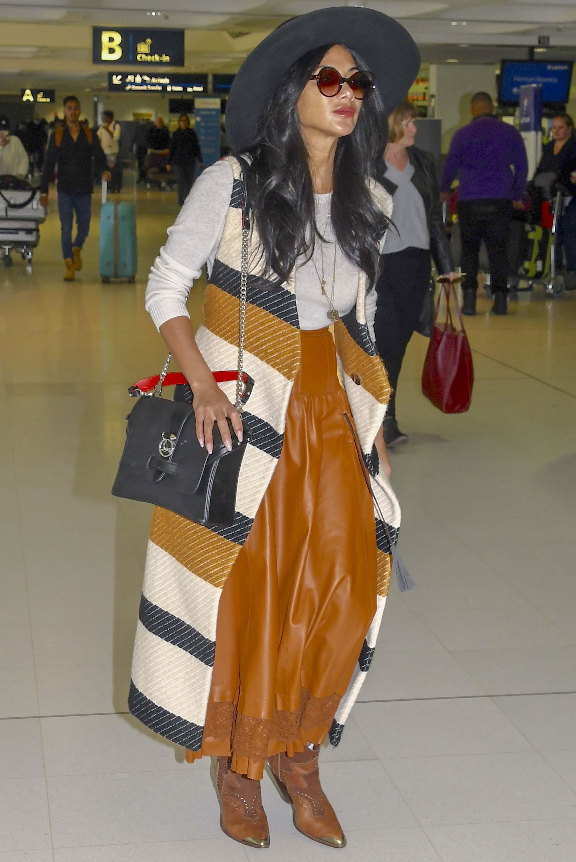 Nicole Scherzinger at Sydney Airport