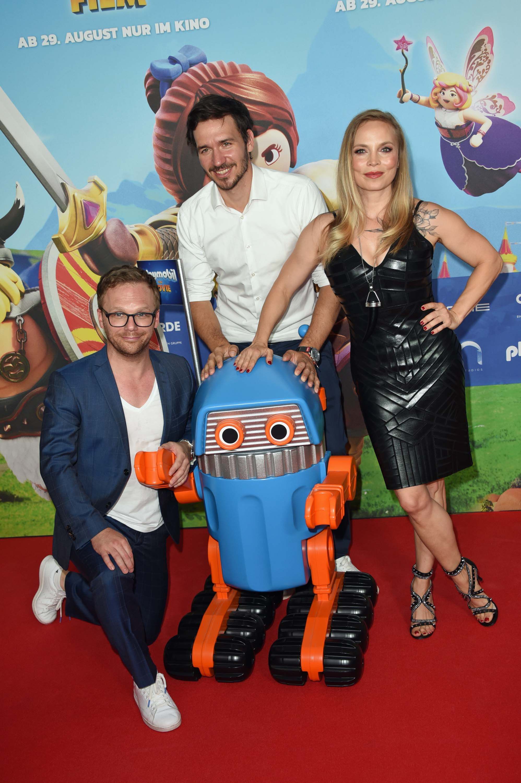 """Regina Halmich attends Premiere """"Playmobil - der Film"""" im Mathäser Filmpalast"""