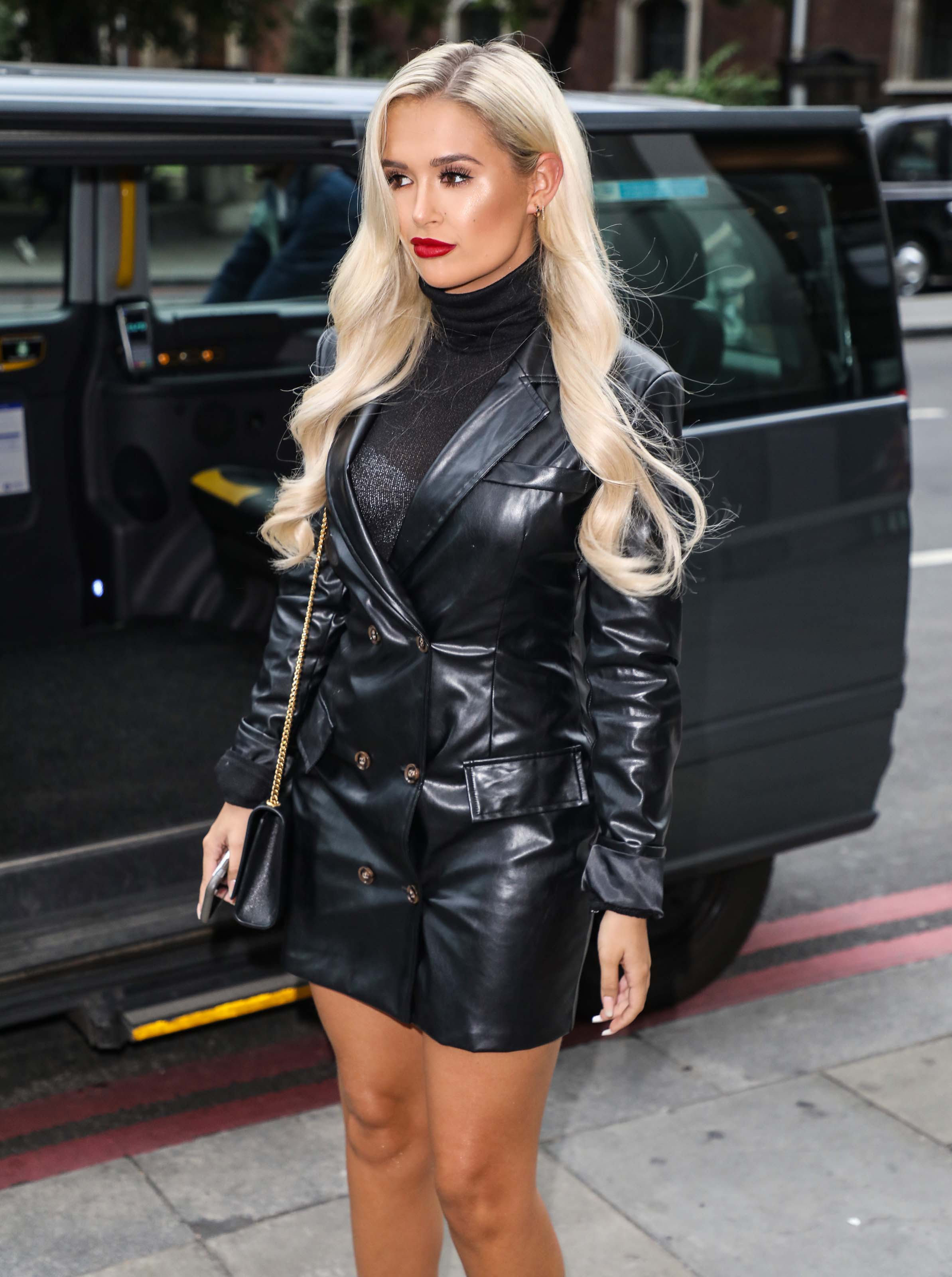 Molly Mae Hague attends Launch dinner for Boohoo Man