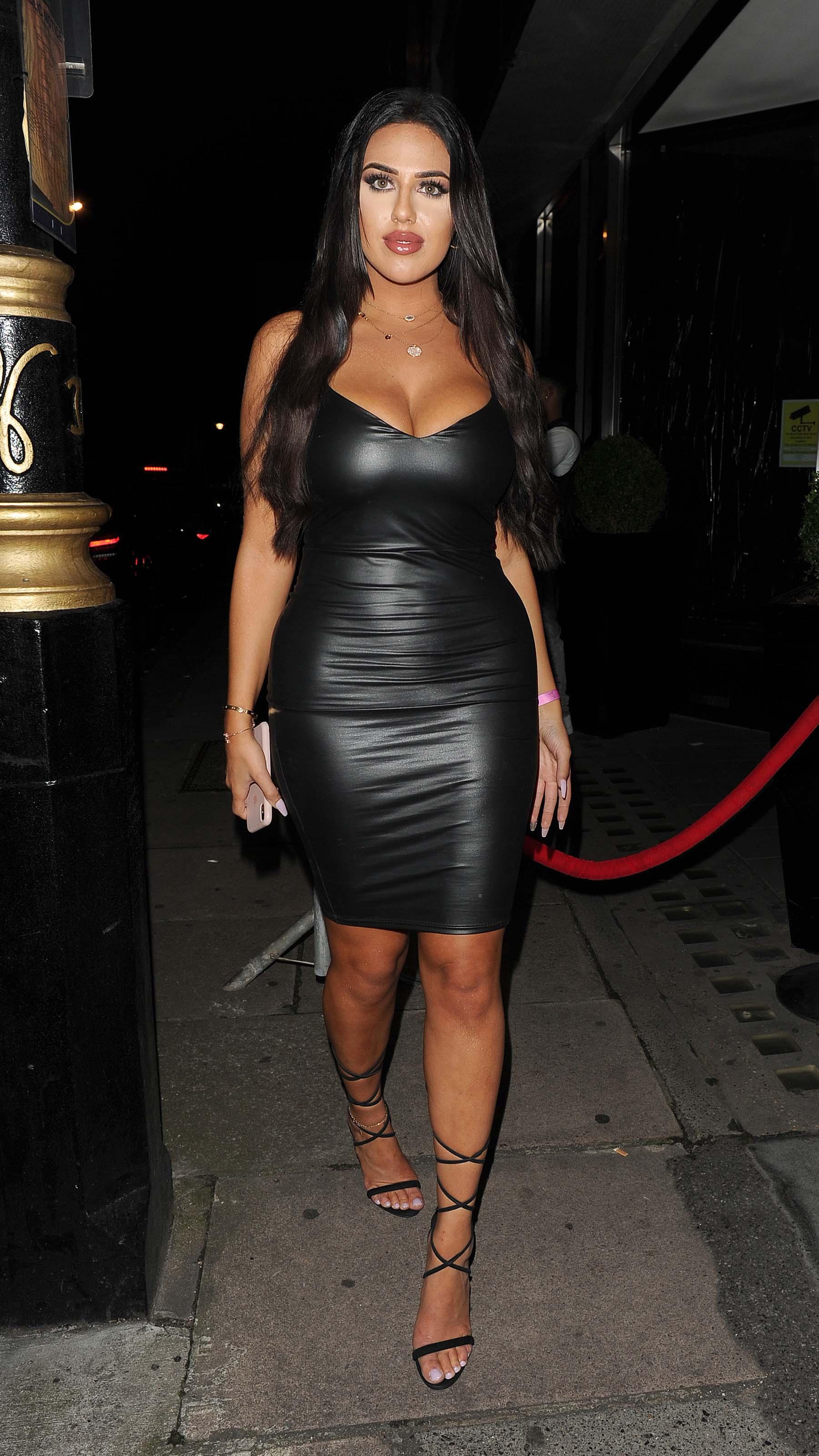 Anna & Mandi Vakili night out at Playboy Club