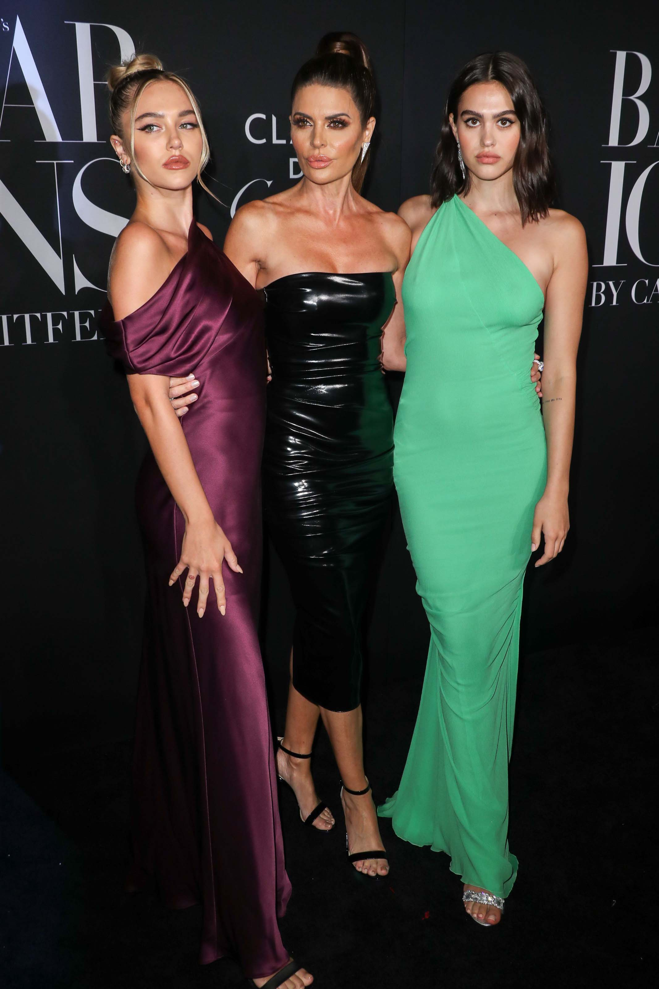 Lisa Rinna attends Harper's Bazaar icons event