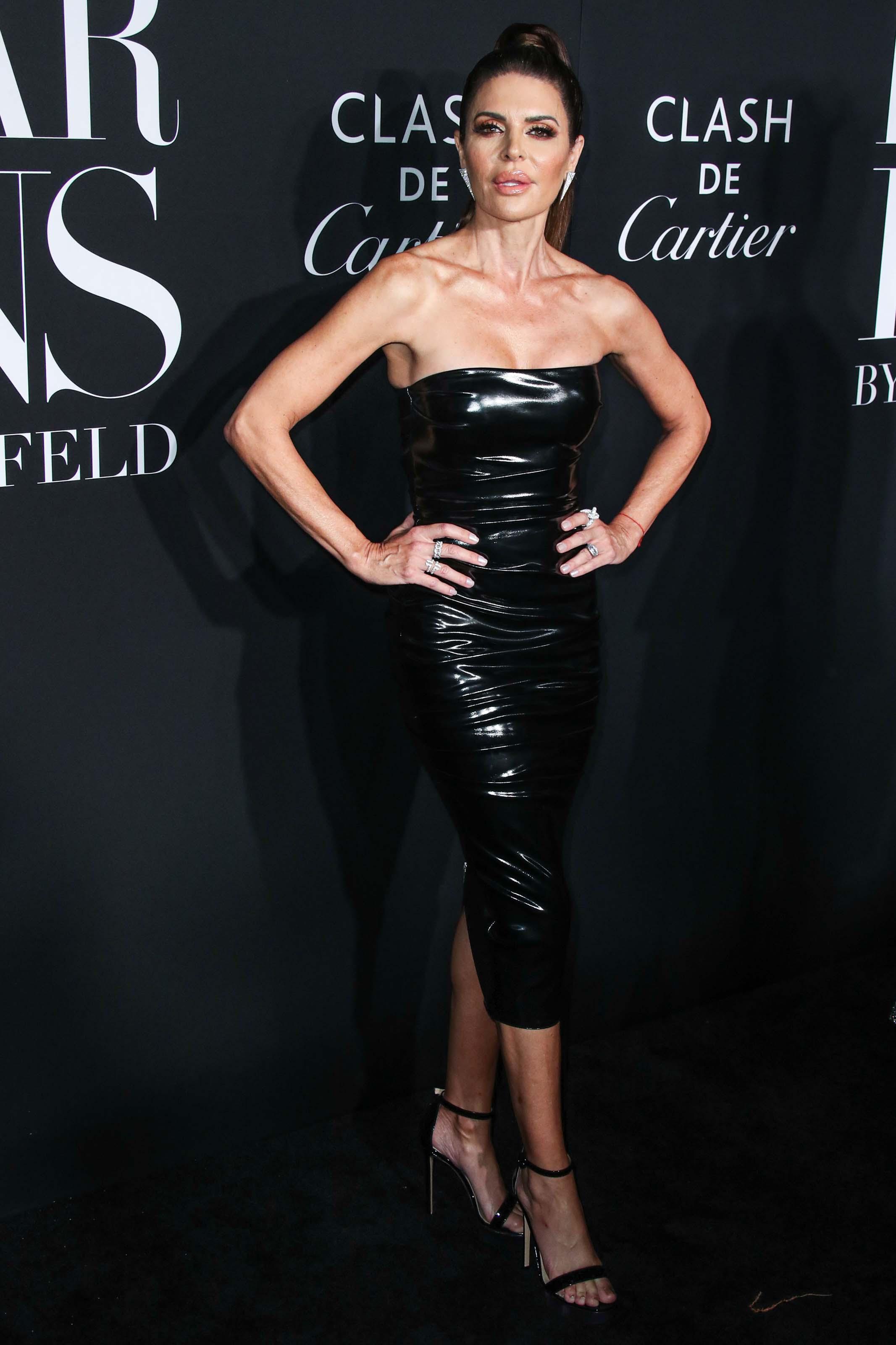 Lisa Rinna attends Harper's Bazaar icons event