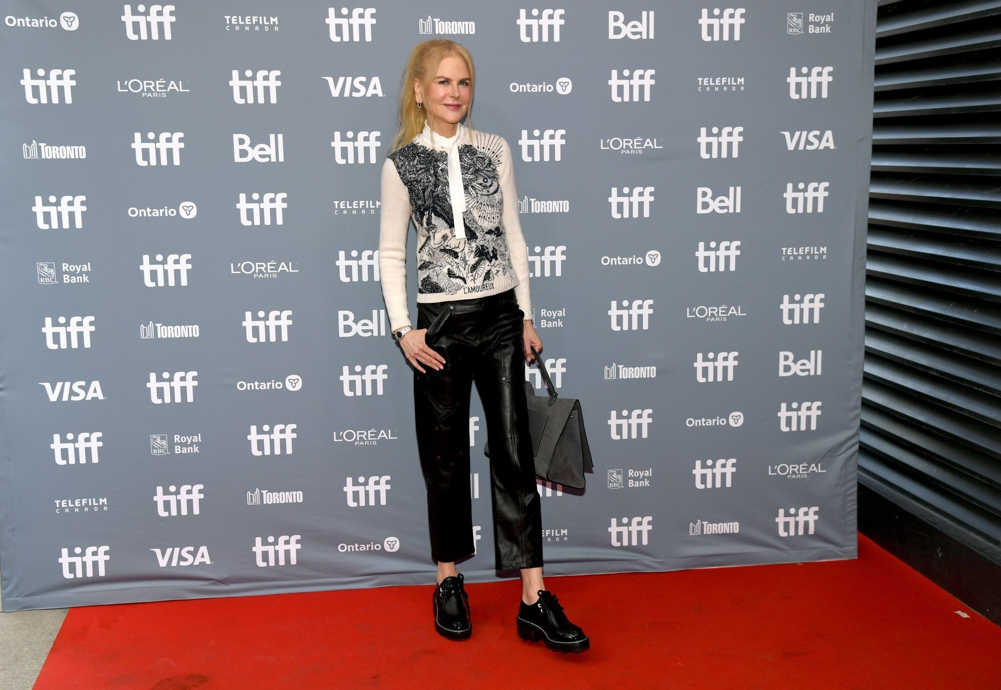Nicole Kidman attends The Goldfinch Press Conference 2019