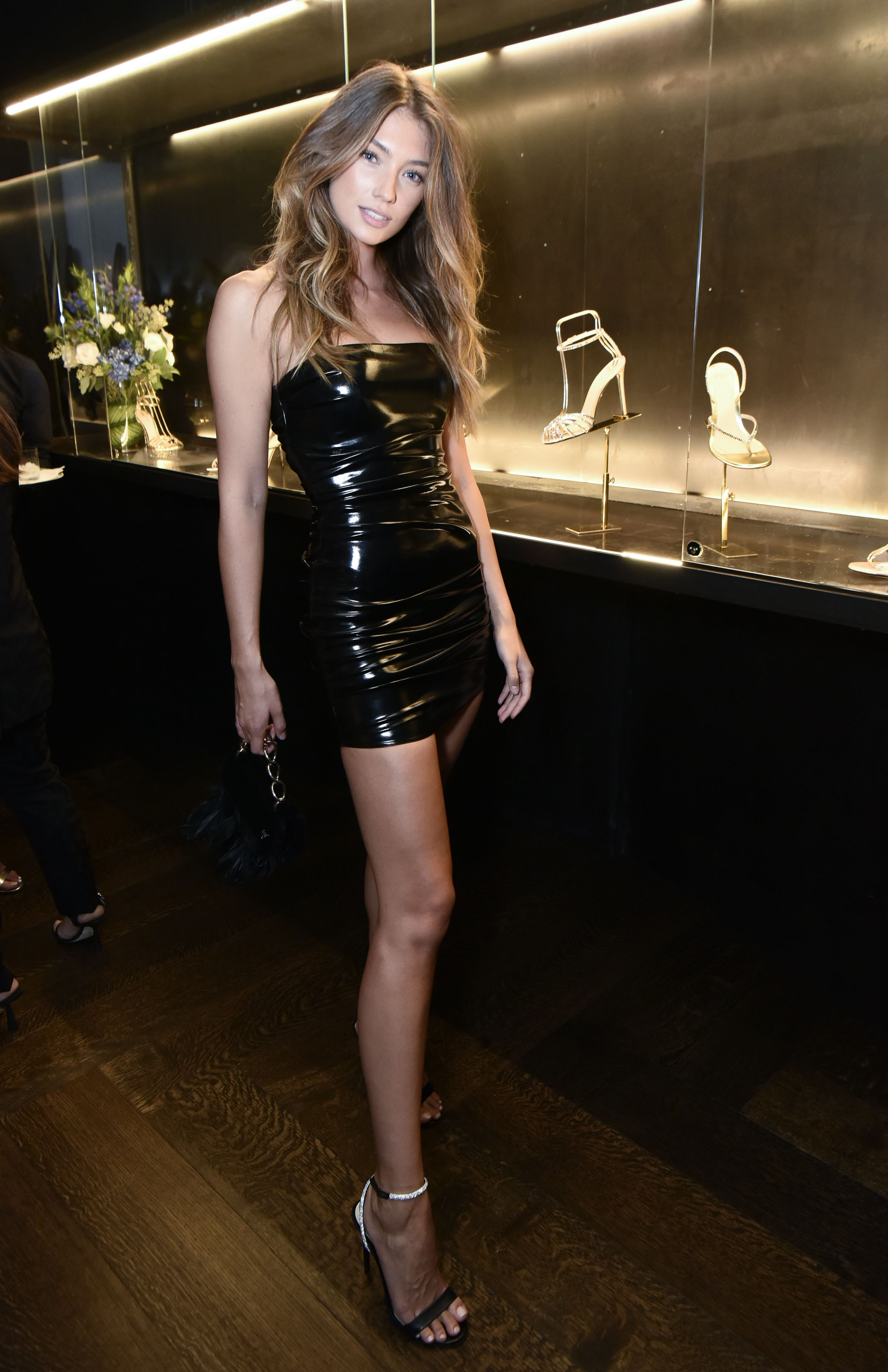 Lorena Rae attends Alevi Milano NYFW Dinner