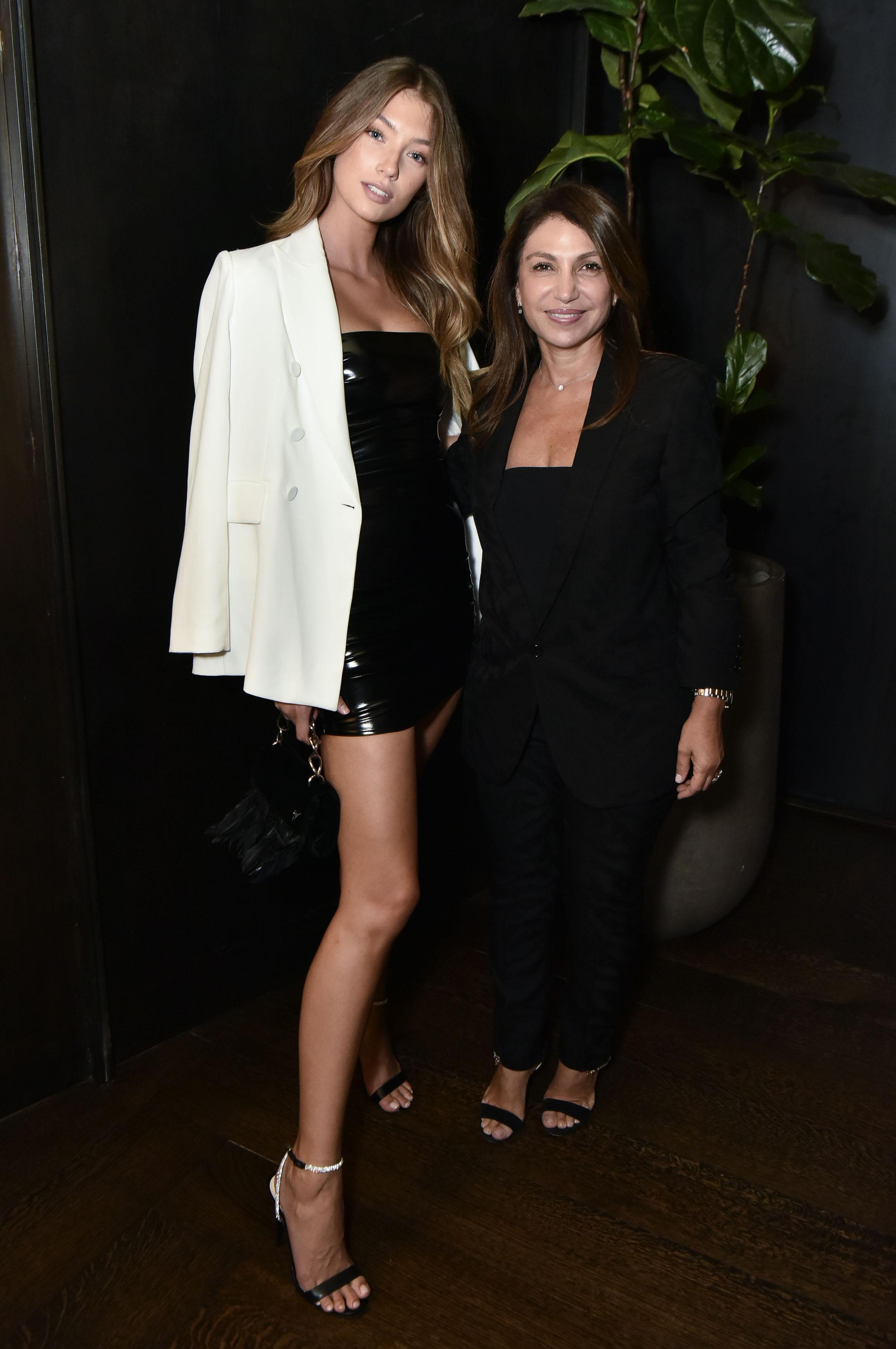 Lorena Rae attends Alevi Milano NYFW Dinner