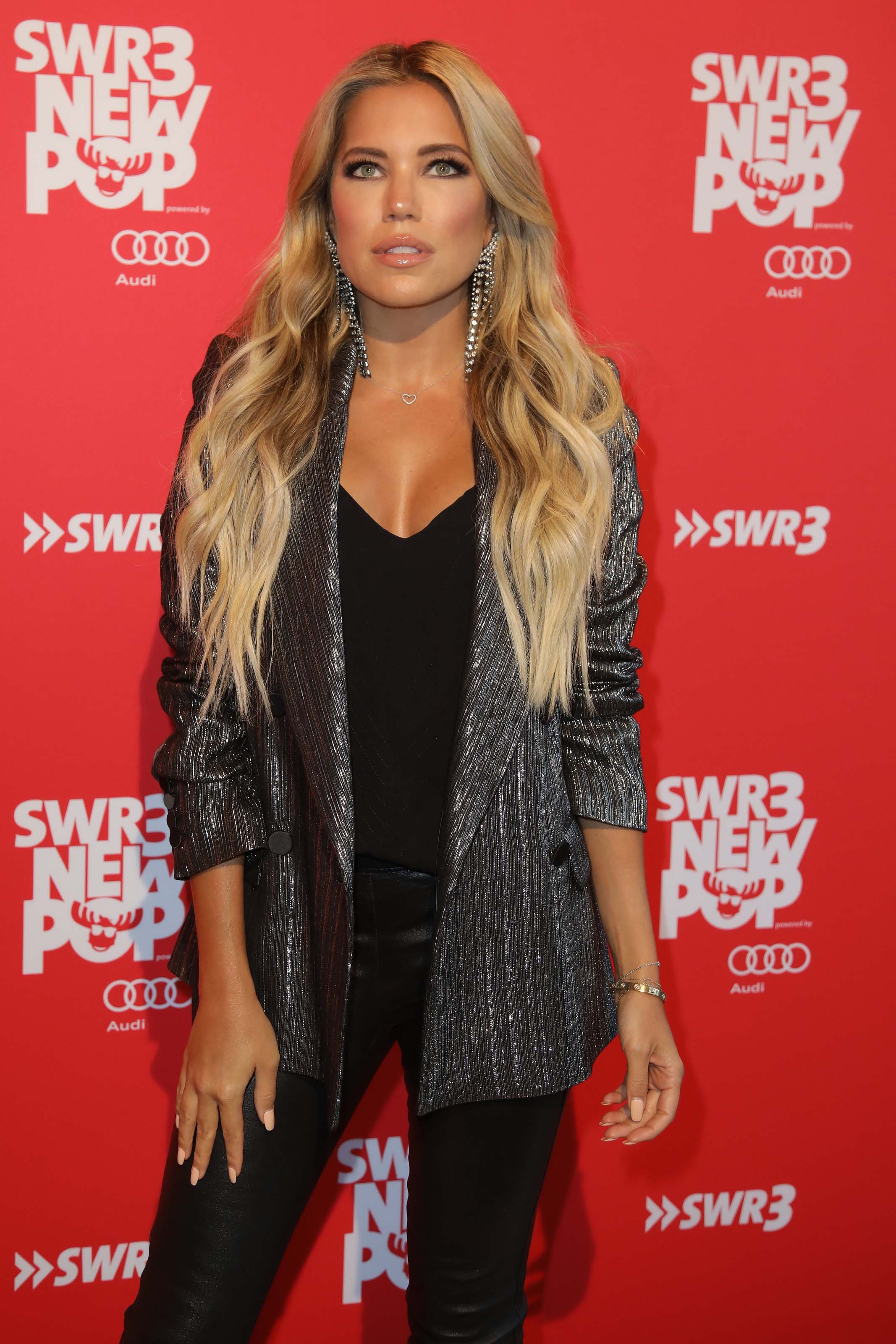 Sylvie Meis attends SWR3 New Pop Festival 'Das Special'