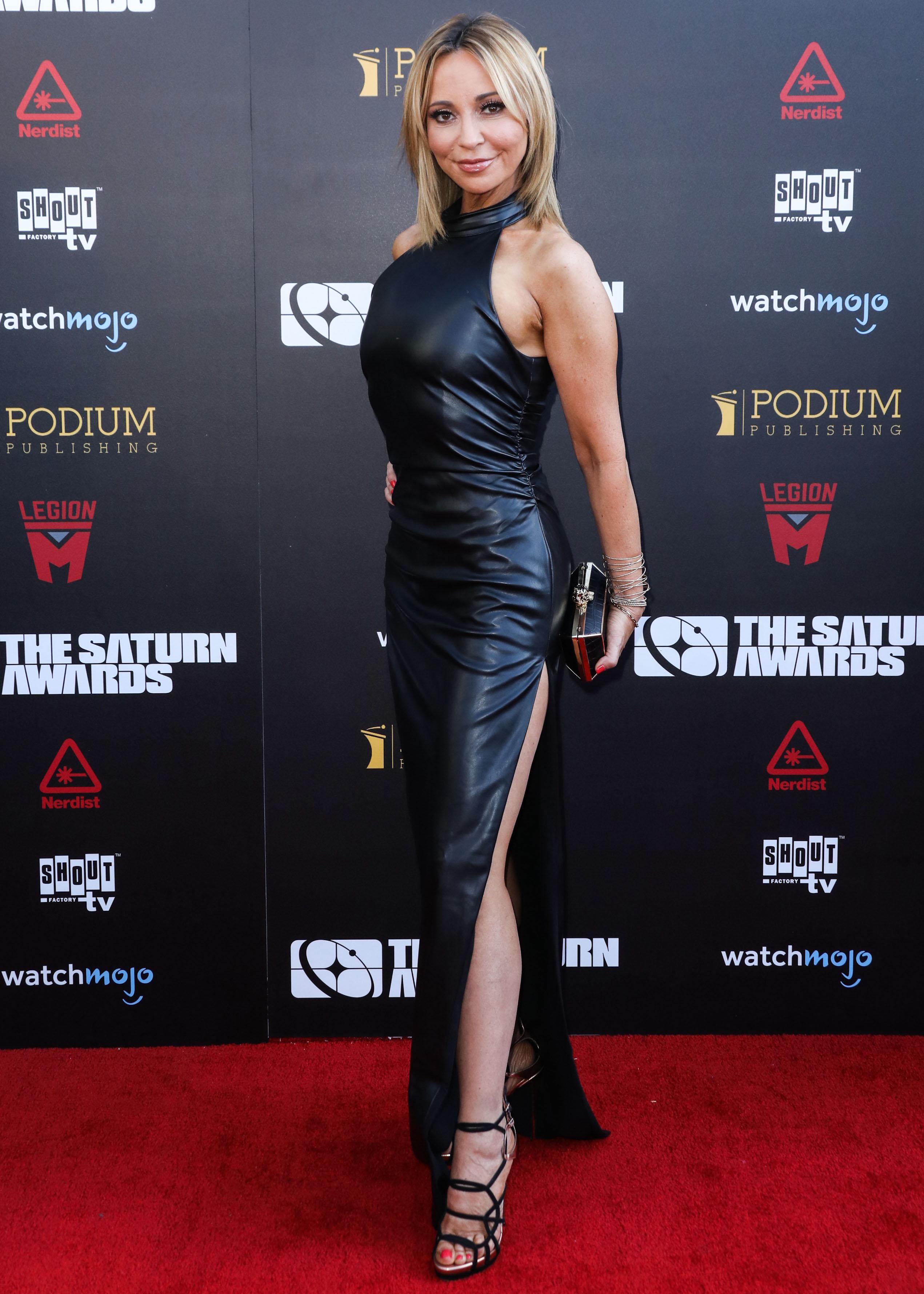 Tara Strong attends 45th Annual Saturn Awards