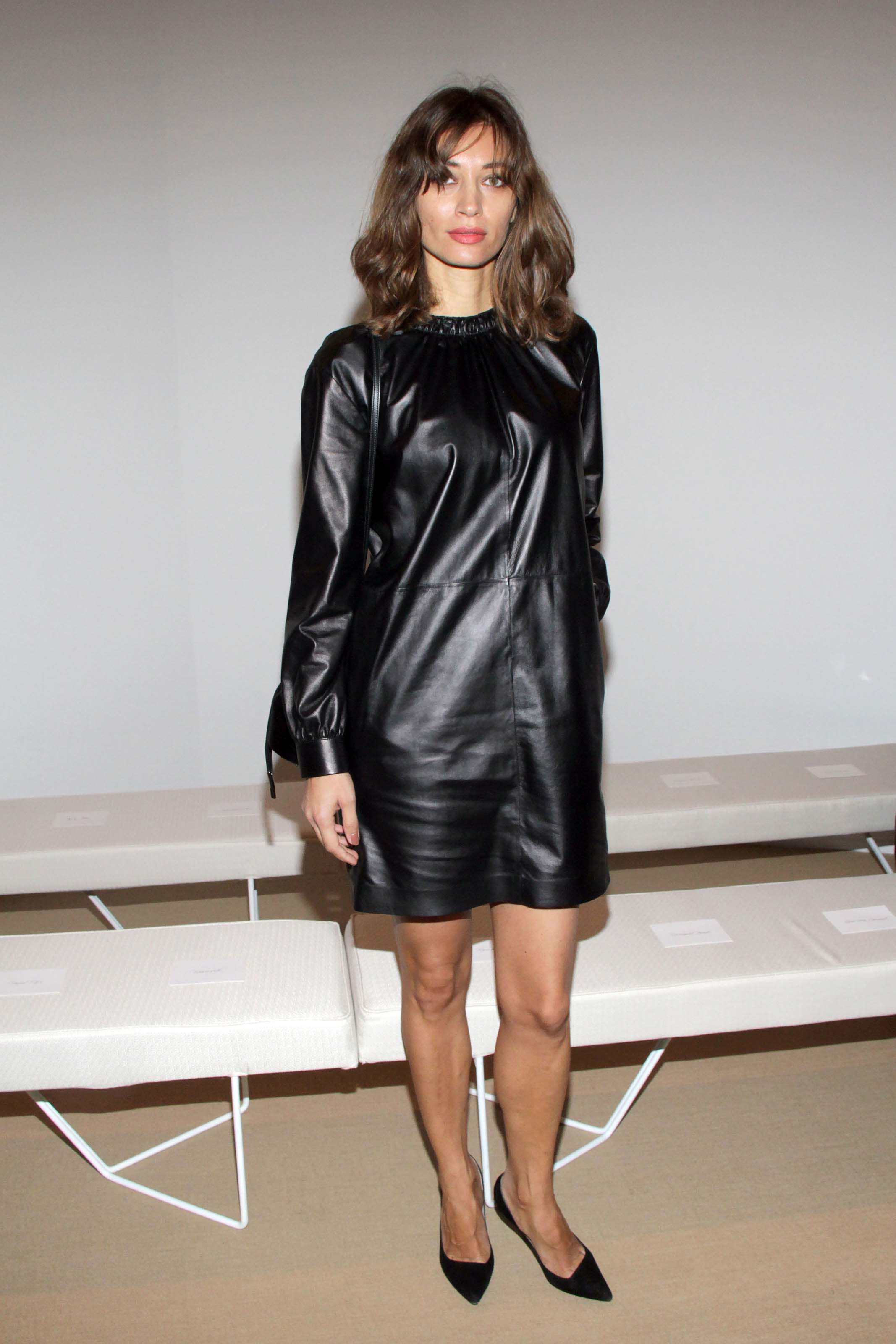 Olivia Palermo & Margareth Made attend Tod's show