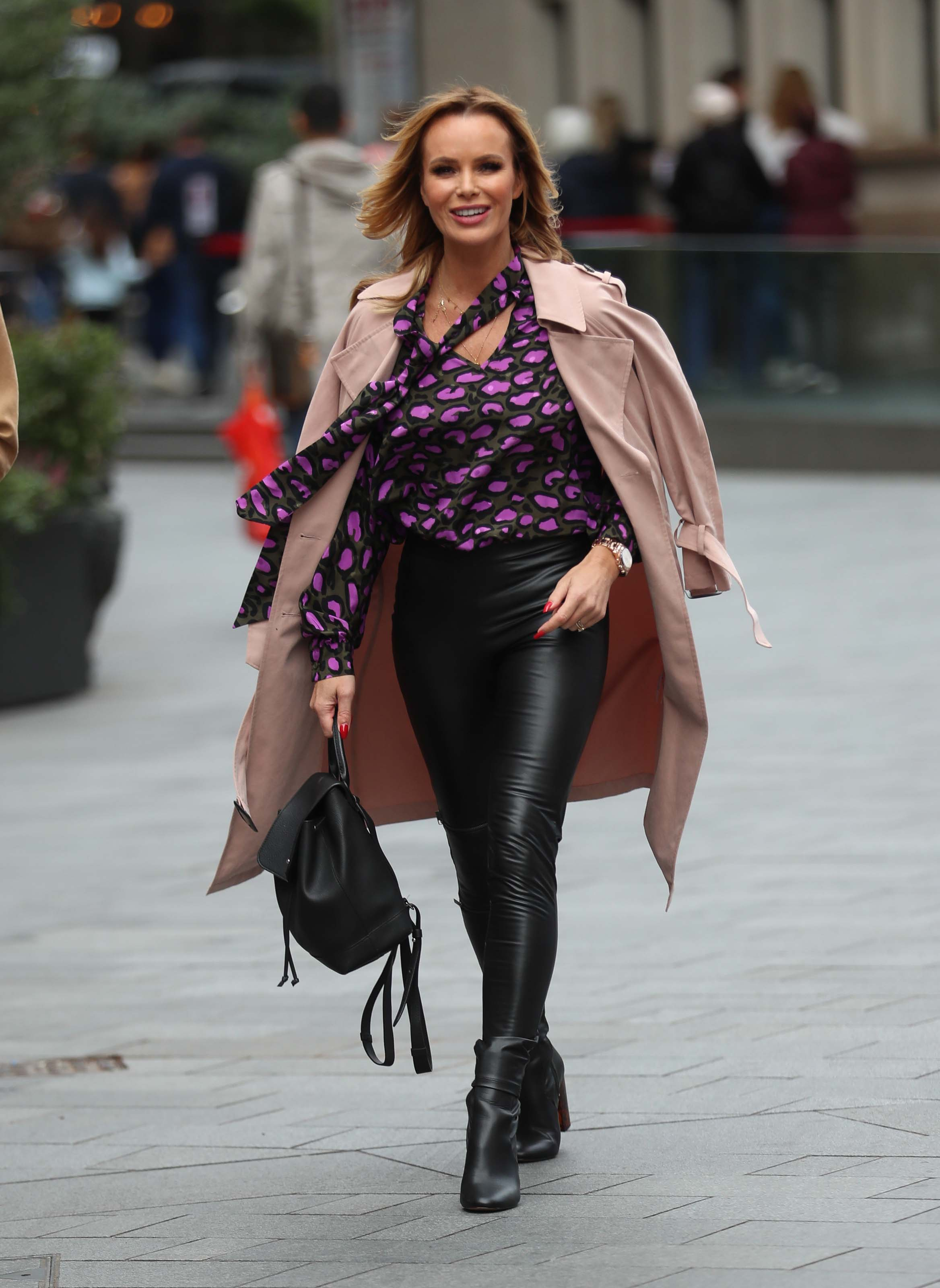 Amanda Holden at Heart Radio