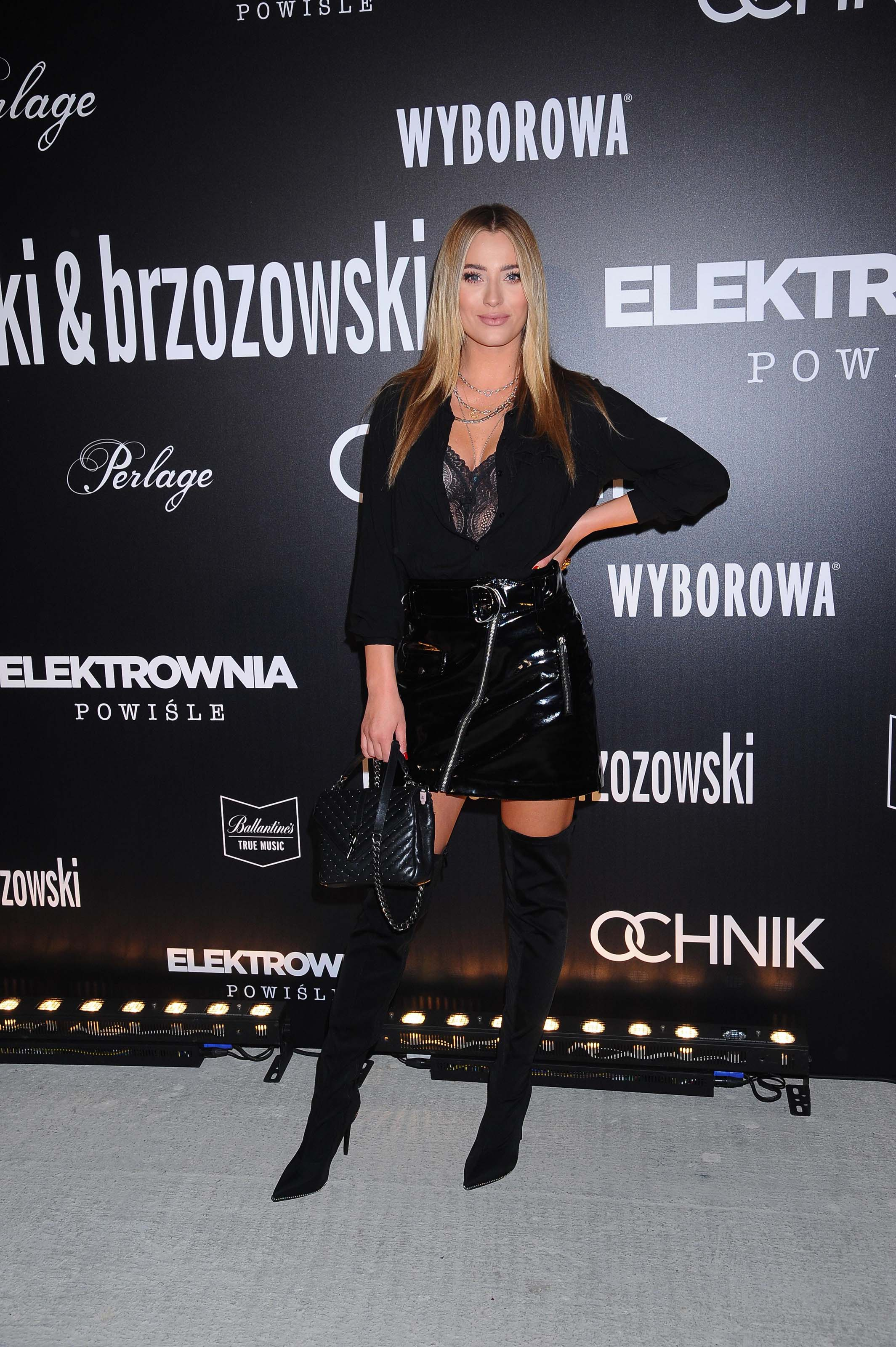 Marcelina Zawadzka attends Paprocki Brzozowski